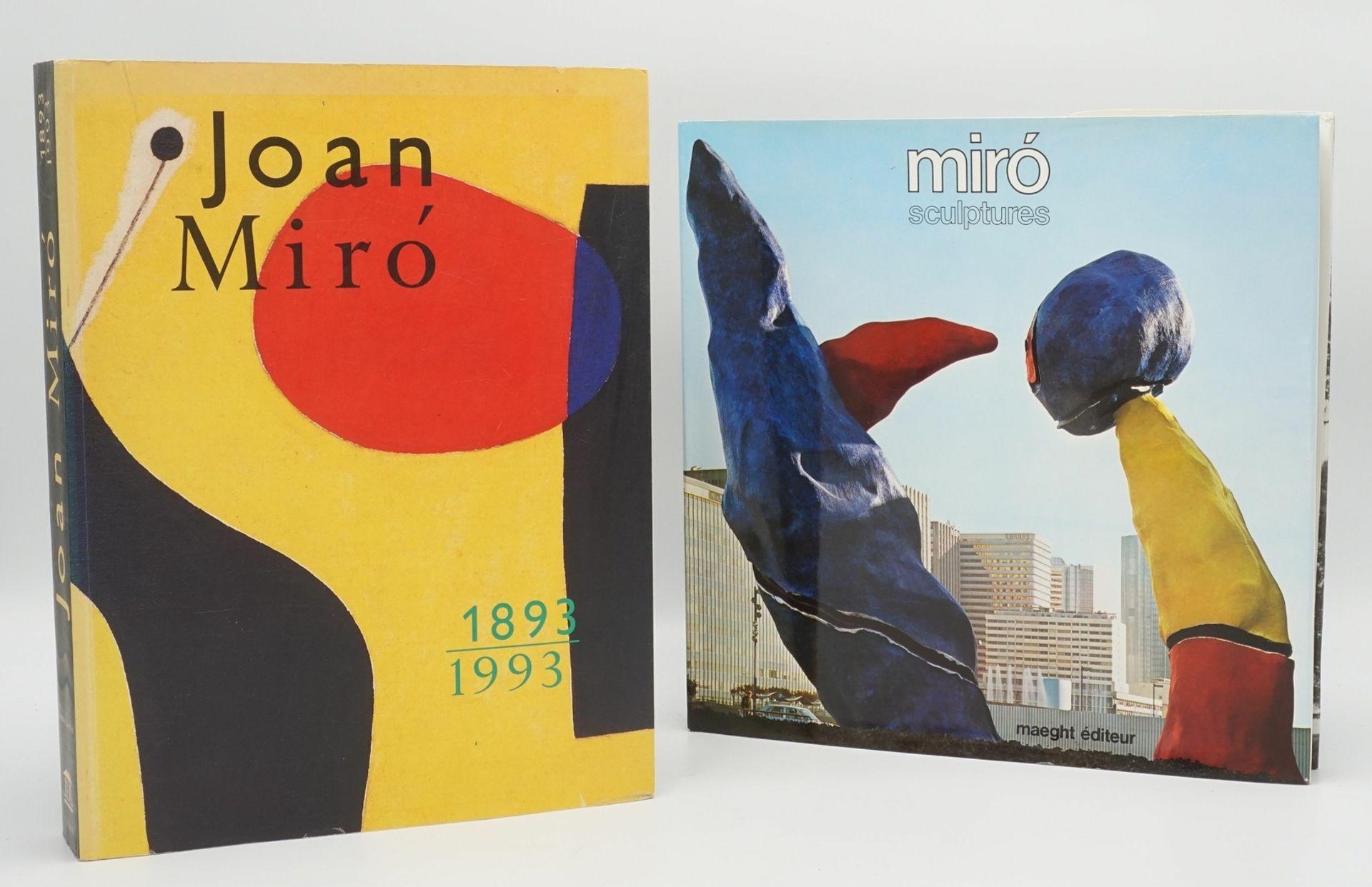 "Joan Miró Ausstellungskatalog und ""Miró Sculptures"""