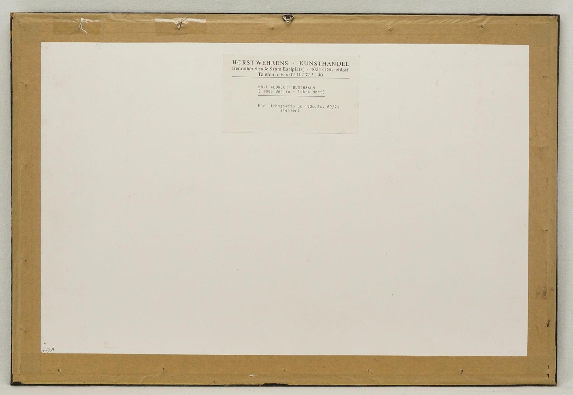 Karl Albrecht Buschbaum, Baum-Paar - Bild 3 aus 4