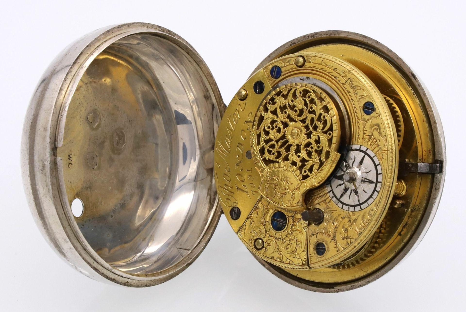 Thomas Maston, London Englische Spindeltaschenuhr, von 1839 - Bild 4 aus 6