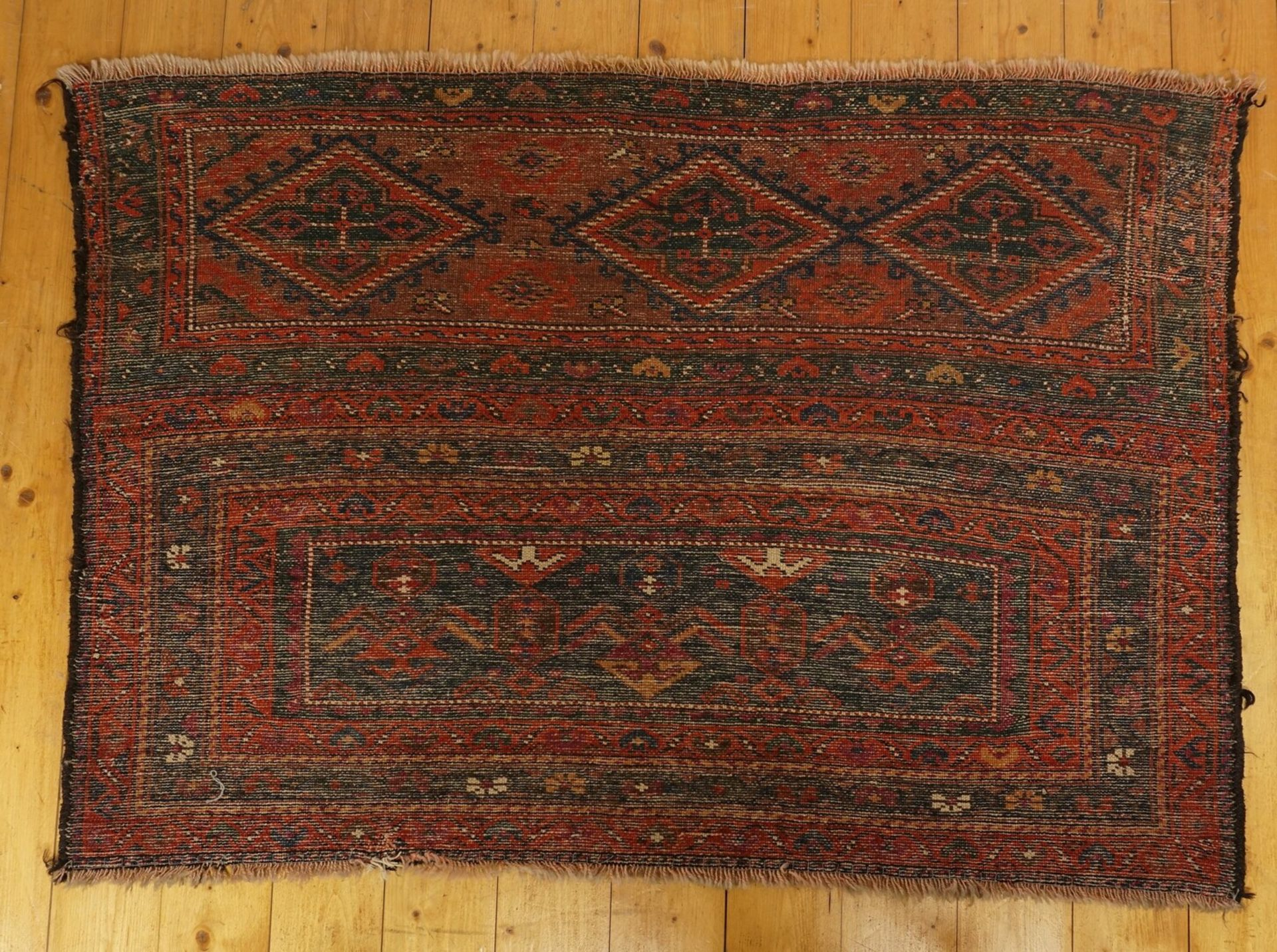 Tekke Teppich Turkmenistan - Bild 2 aus 3