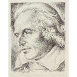 """J. von Appen, """"Portrait Friedrich von Schiller"""""""