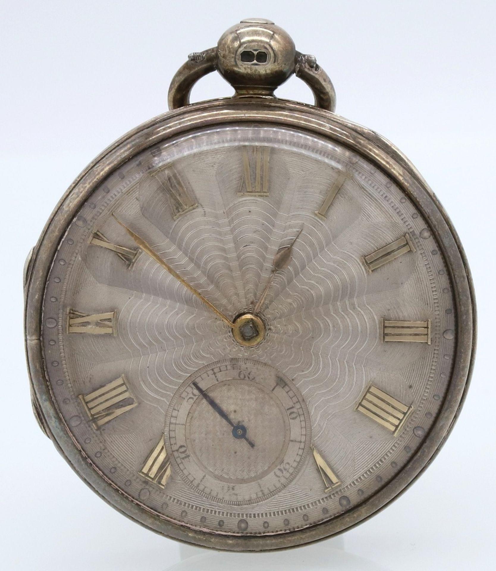 B. Sirrill Hereford englische Spindeltaschenuhr, von 1831 - Bild 2 aus 6