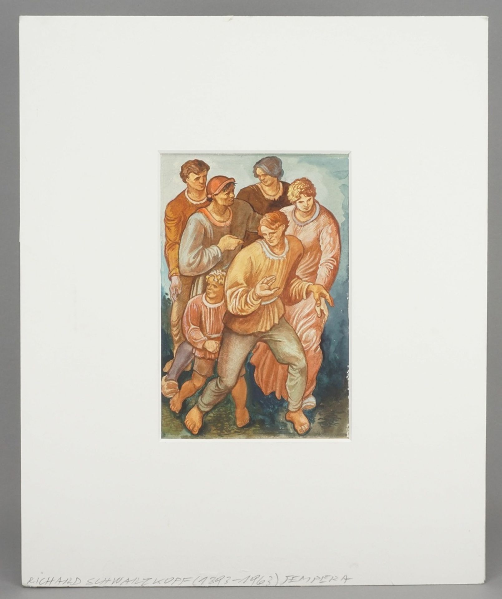 Richard Schwarzkopf, Figurengruppe - Bild 2 aus 4