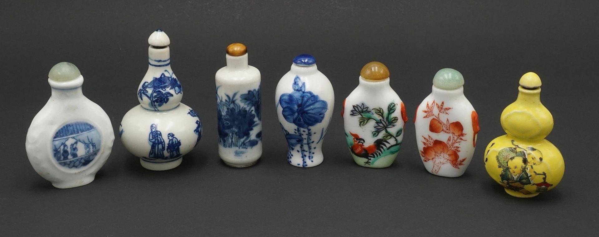 Sieben Snuff Bottles, China