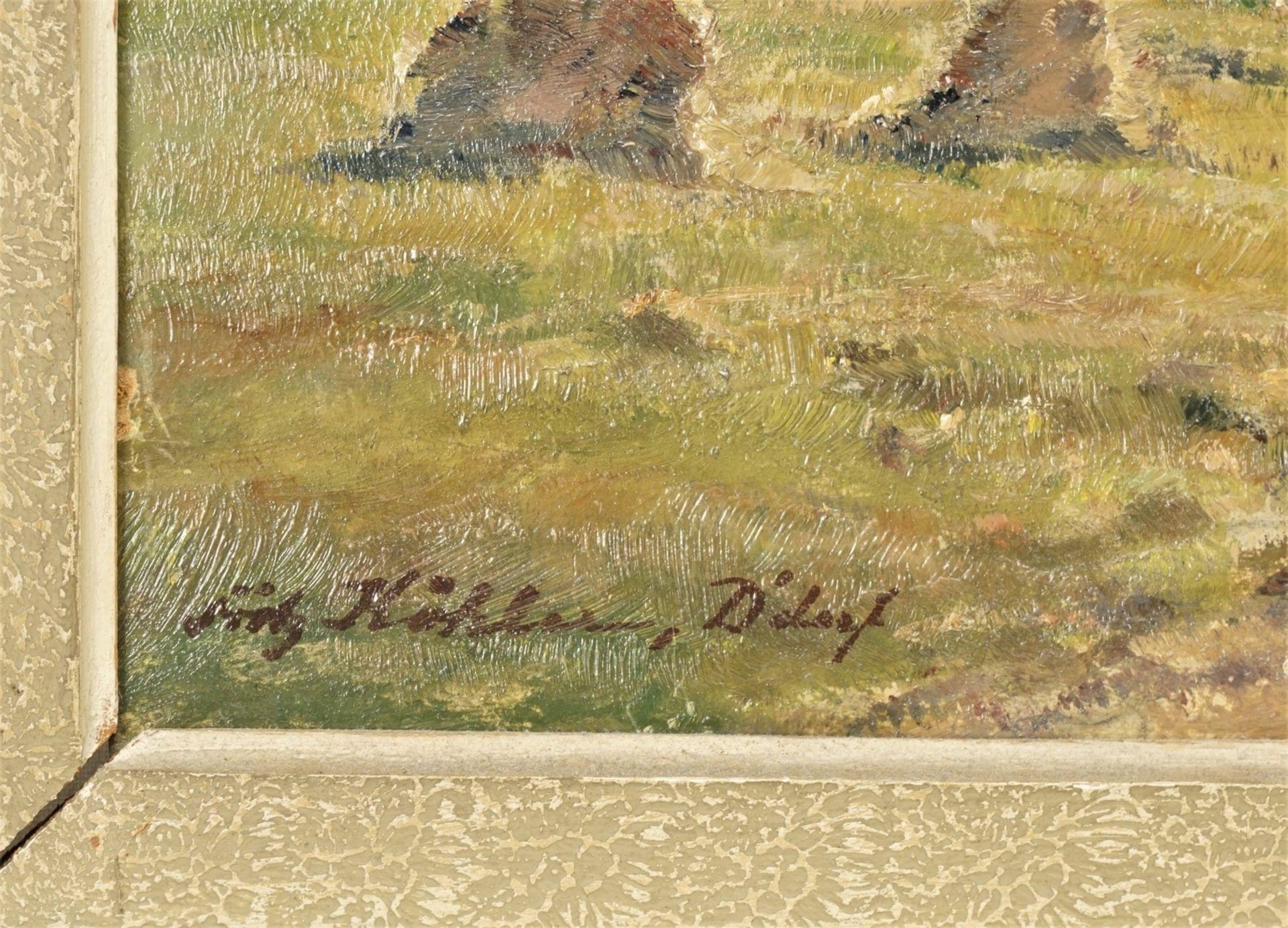 """Fritz Köhler, """"Dorf in der Spätnachmittagssonne"""" - Bild 4 aus 4"""