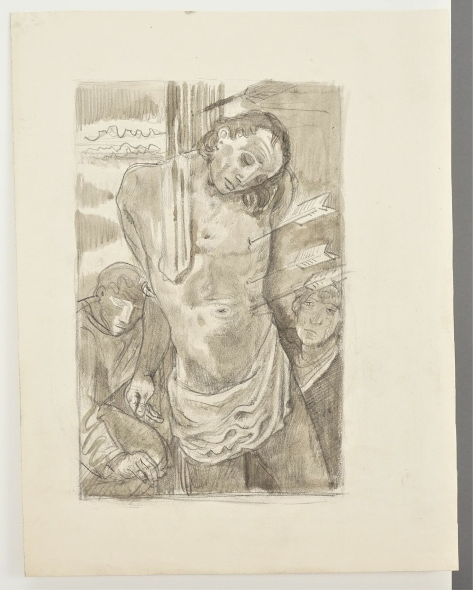 """Richard Schwarzkopf, """"Heiliger Sebastian"""" - Bild 3 aus 5"""