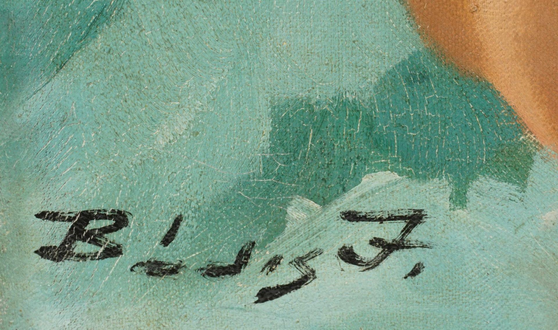 Josef Bódis, Pin-up Akt mit Regenbogenfahne - Bild 4 aus 4