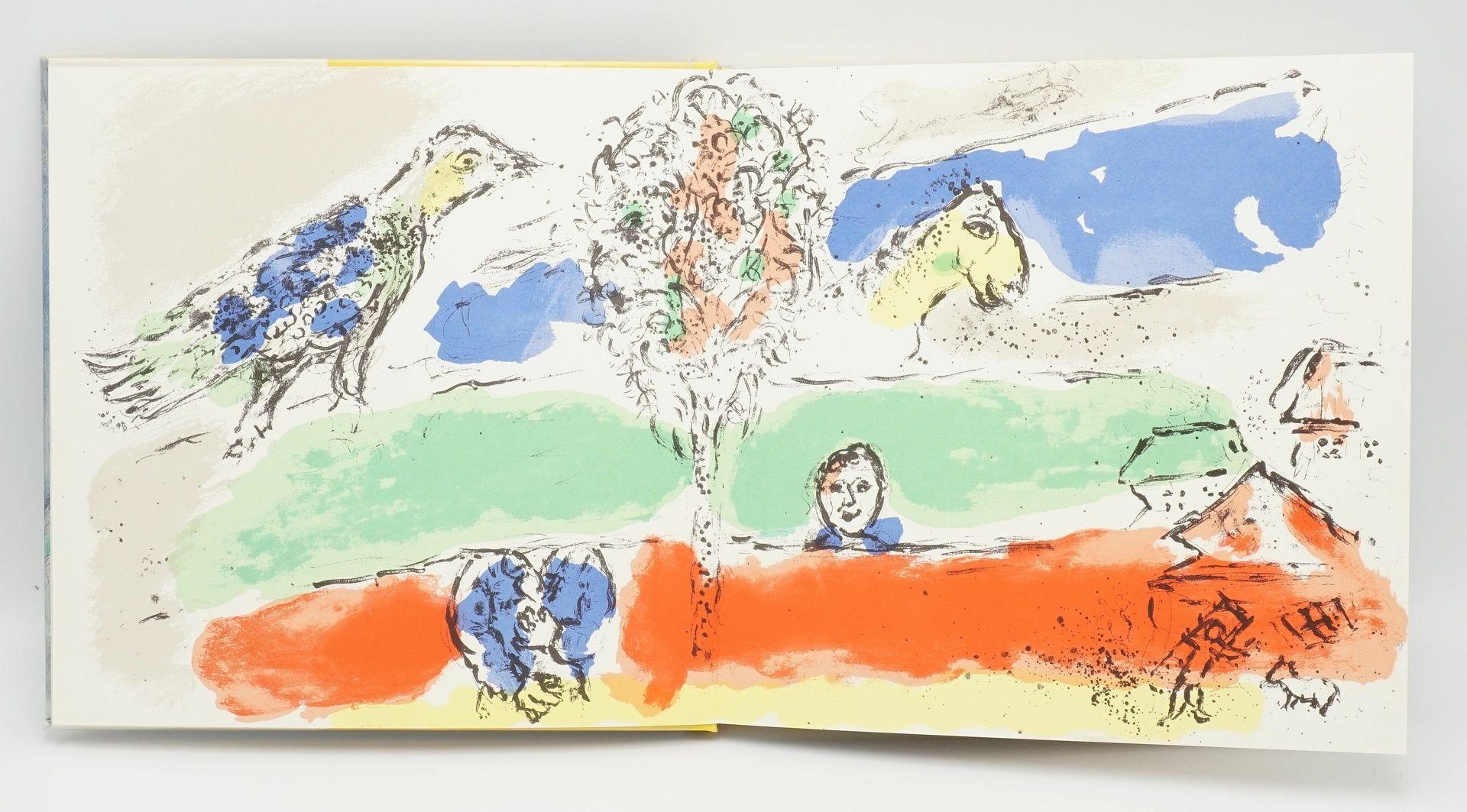 """André Pieyre de Mandiargues, """"Chagall"""", mit einer Originallithografie - Bild 2 aus 6"""