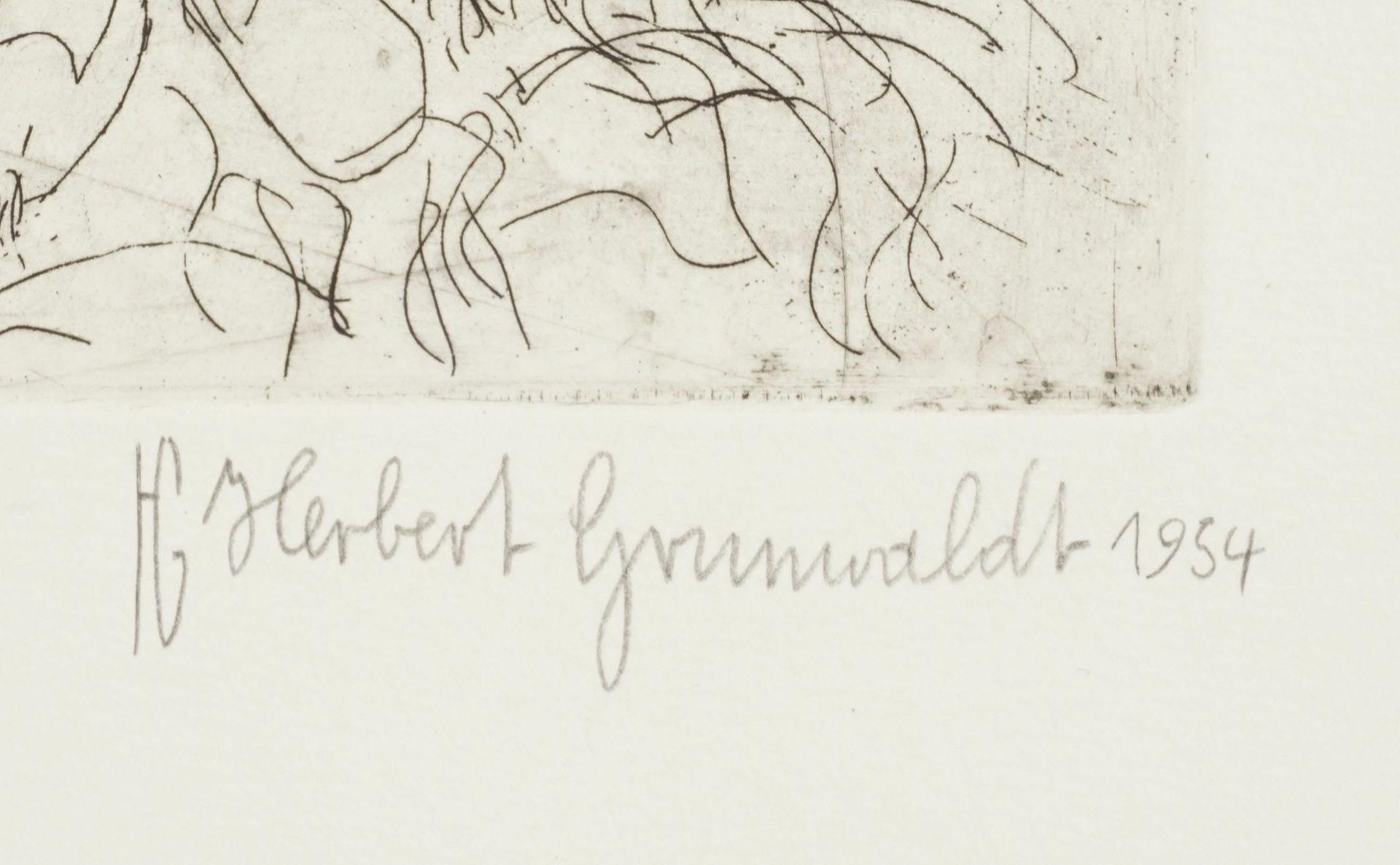 """Herbert Grunwaldt, """"Zigeunermädchen"""" - Bild 4 aus 4"""