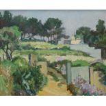 "Leo Assenmacher, ""Landschaft II"" (Südliche Sommerszene)"