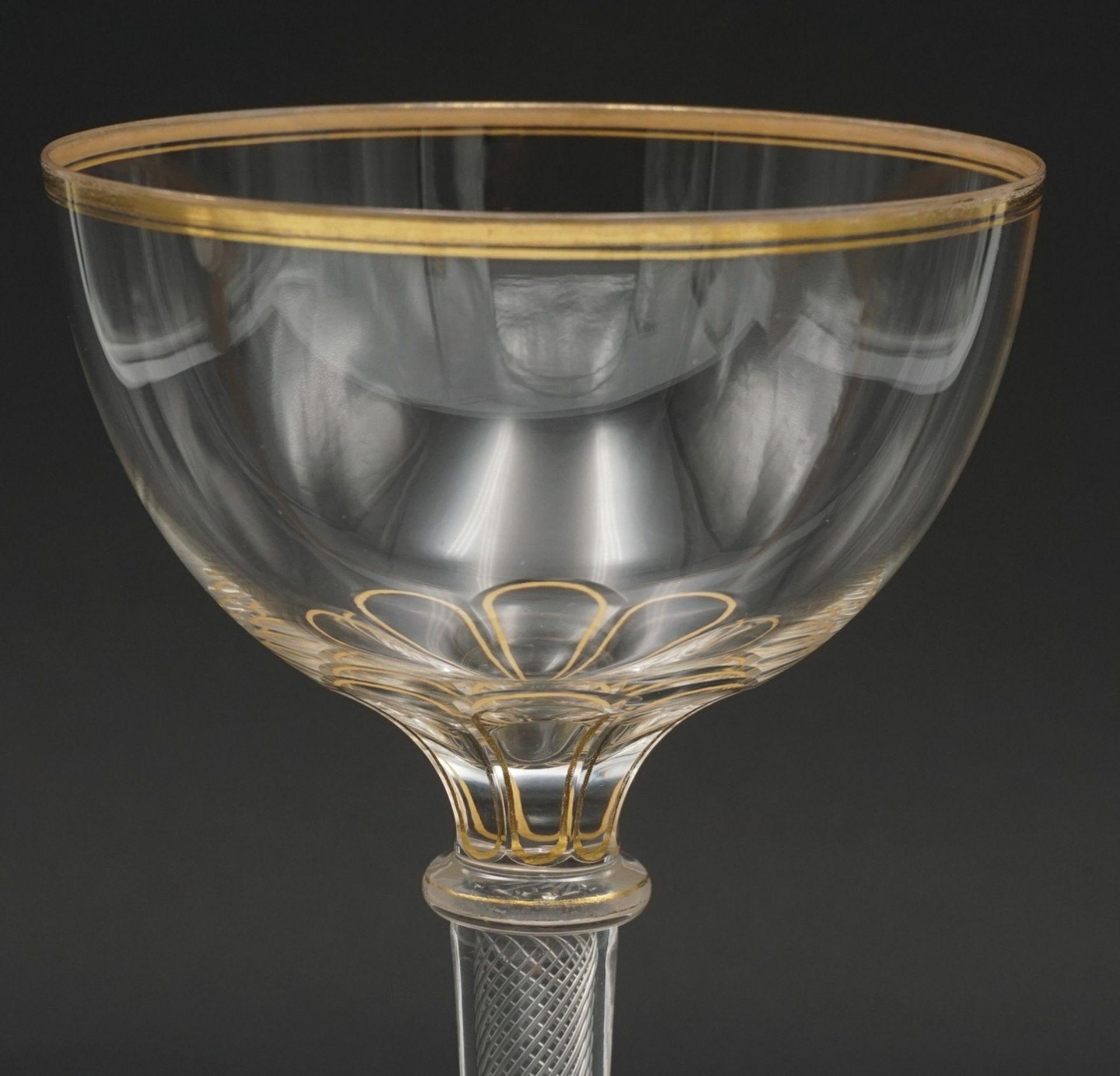 Josephinenhütte Fadenglas, 2. Hälfte 19. Jh. - Bild 2 aus 2