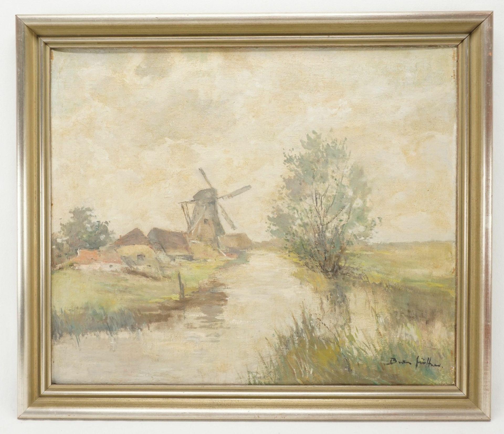 """Bruno Jüttner, """"Am Moorgraben"""" - Bild 2 aus 4"""
