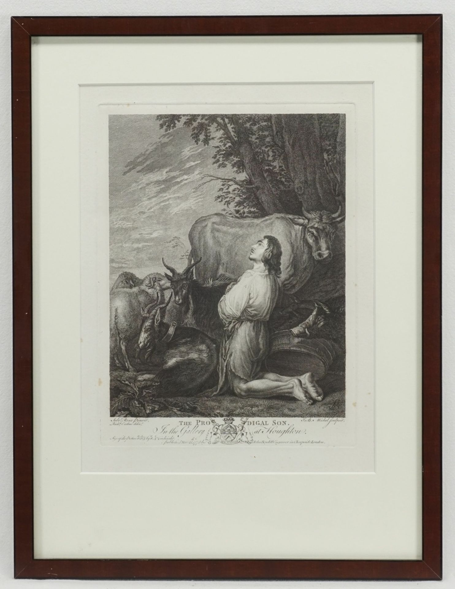"Salvator Rosa, ""The prodigal son"" (Der verlorene Sohn) - Bild 2 aus 2"