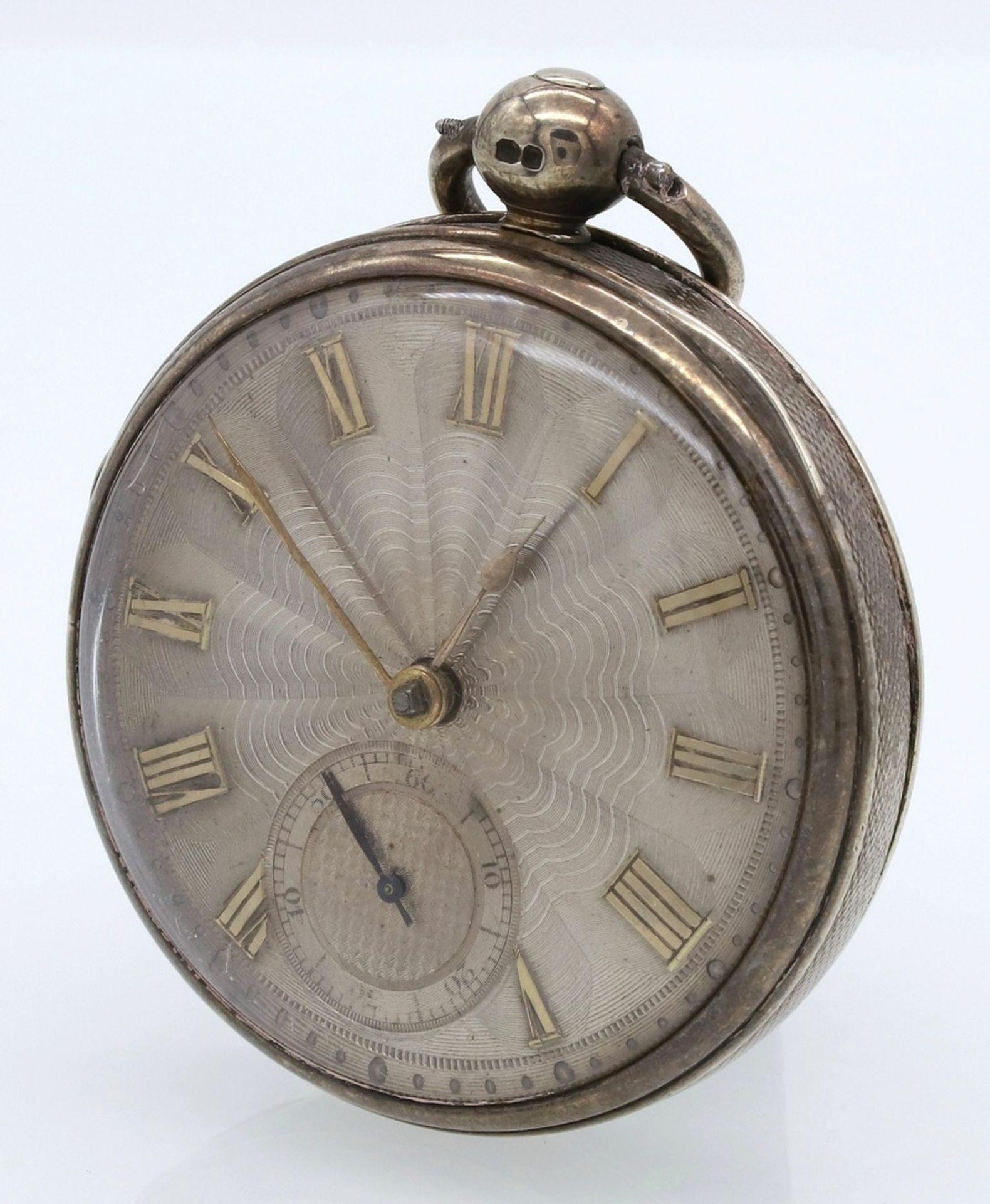 B. Sirrill Hereford englische Spindeltaschenuhr, von 1831 - Bild 3 aus 6