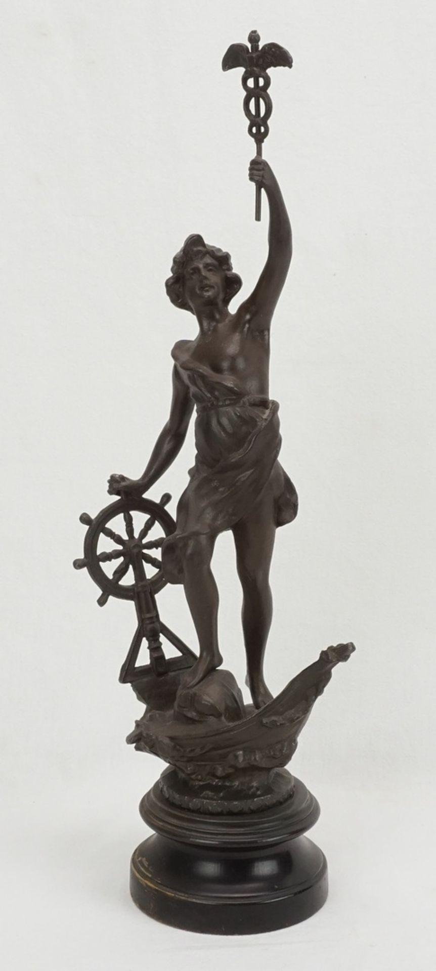 Zwei allegorische Figuren, für Handwerk und Wirtschaft & Handel - Bild 4 aus 5