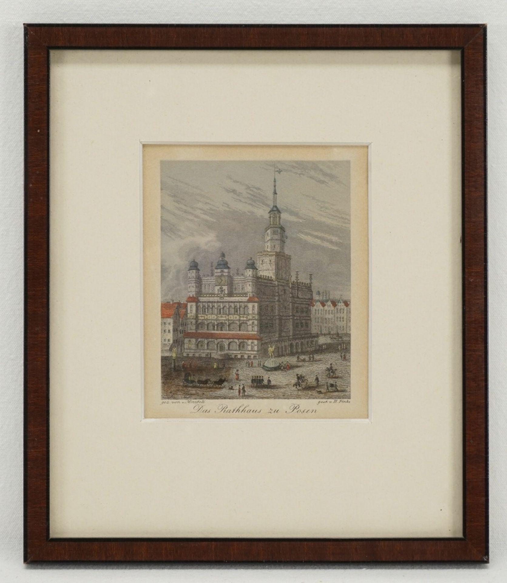 Posen und Breslau - drei Ansichten - Bild 3 aus 4