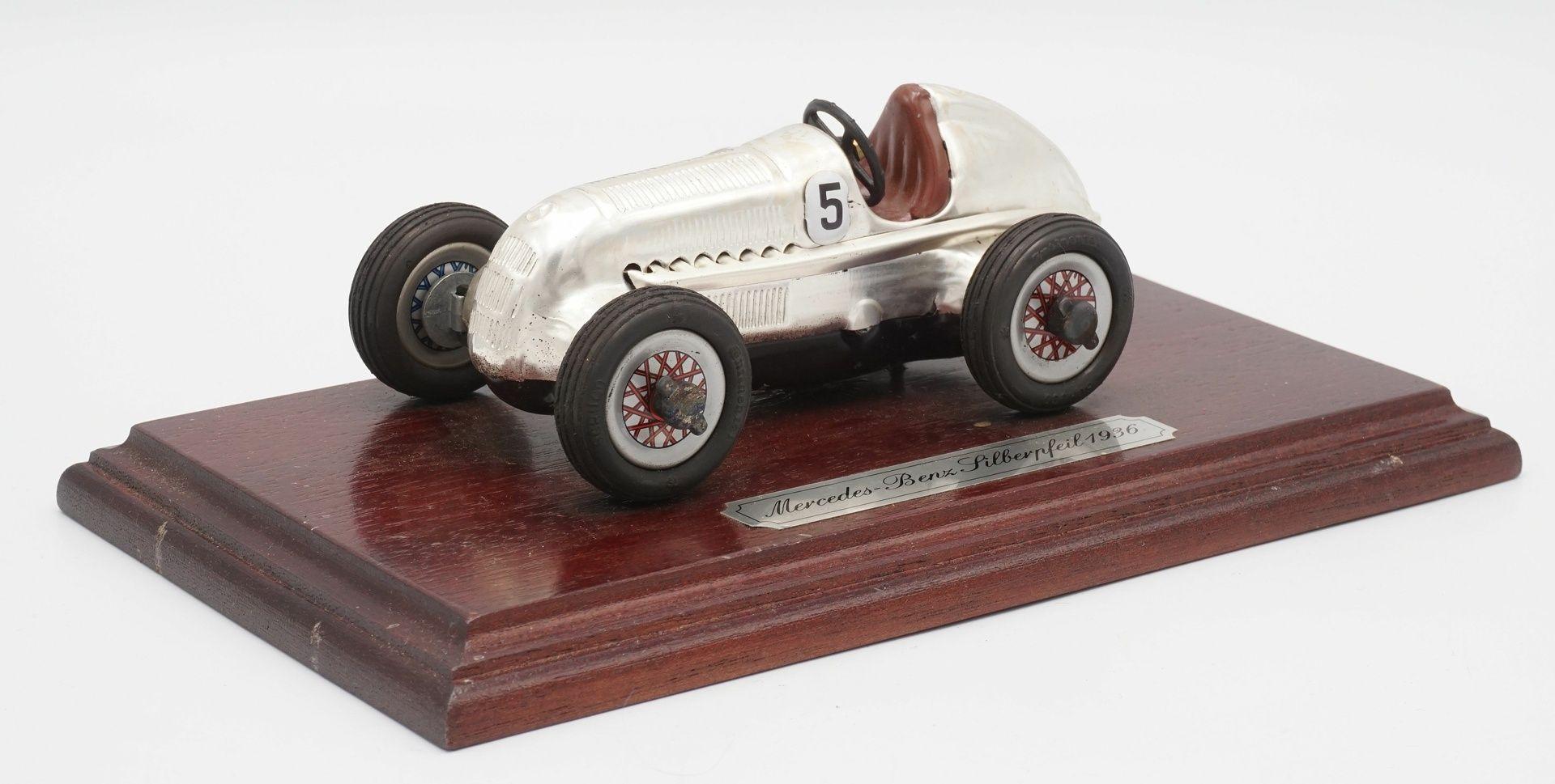 Schuco Studio Auto, Mercedes-Benz Silberpfeil 1936, 2. Hälfte 20. Jh.