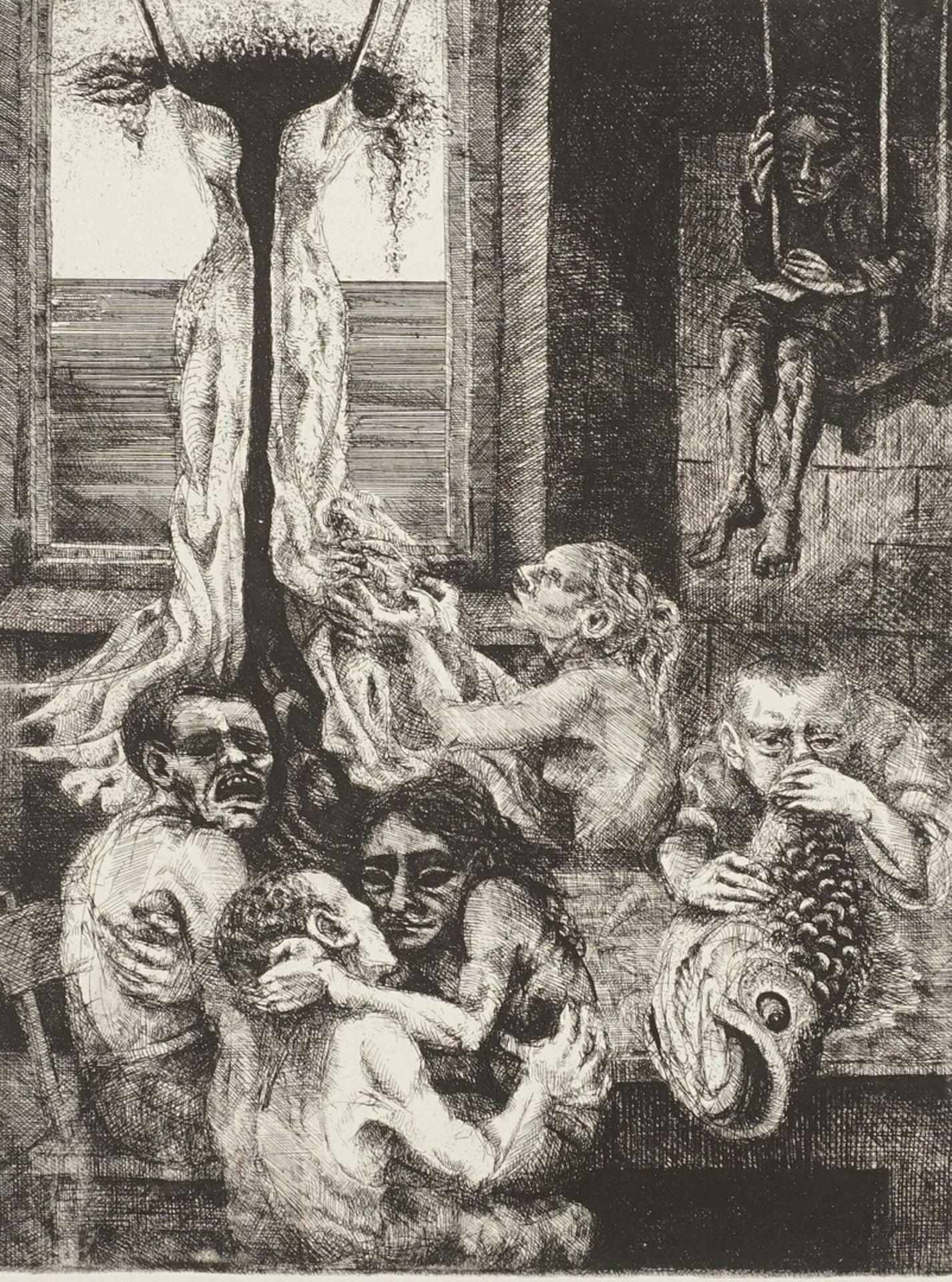 M. Kremer, Allegorie auf das Laster