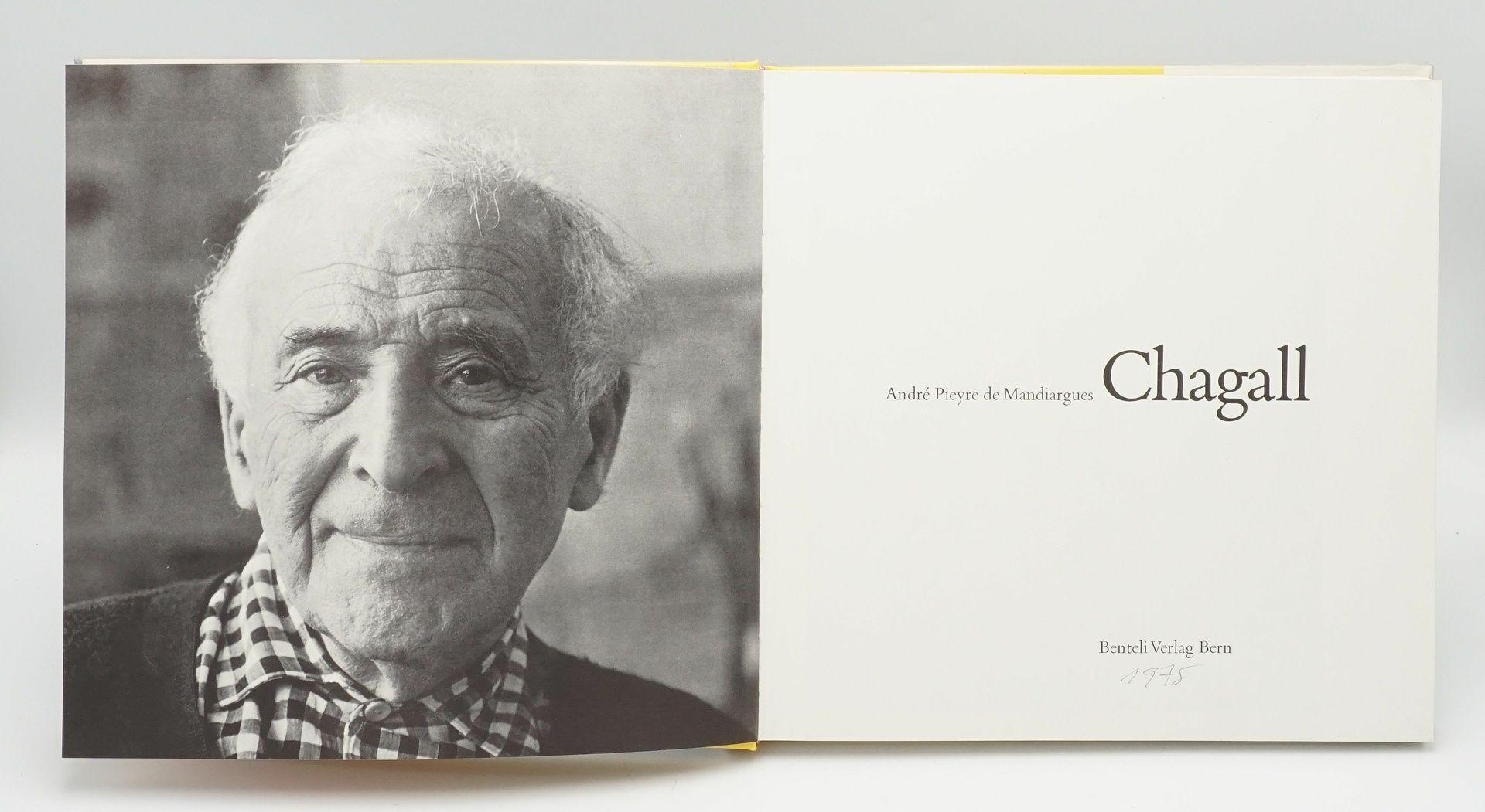 """André Pieyre de Mandiargues, """"Chagall"""", mit einer Originallithografie - Bild 3 aus 6"""