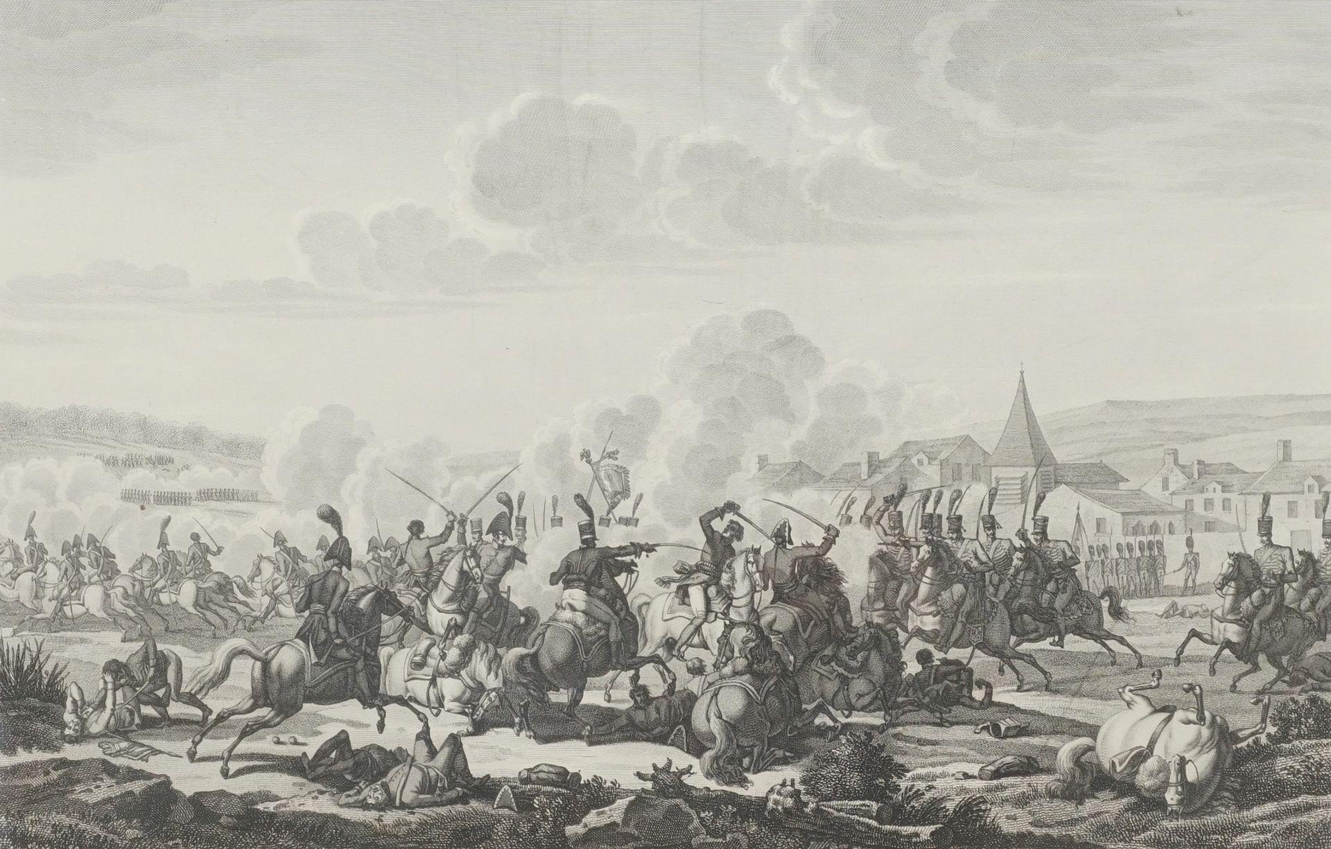 Mort de Prince Louis de Prusse, au combat de Saalfe[l]d, le 10 Octobre 1806 (Der Tod des ...