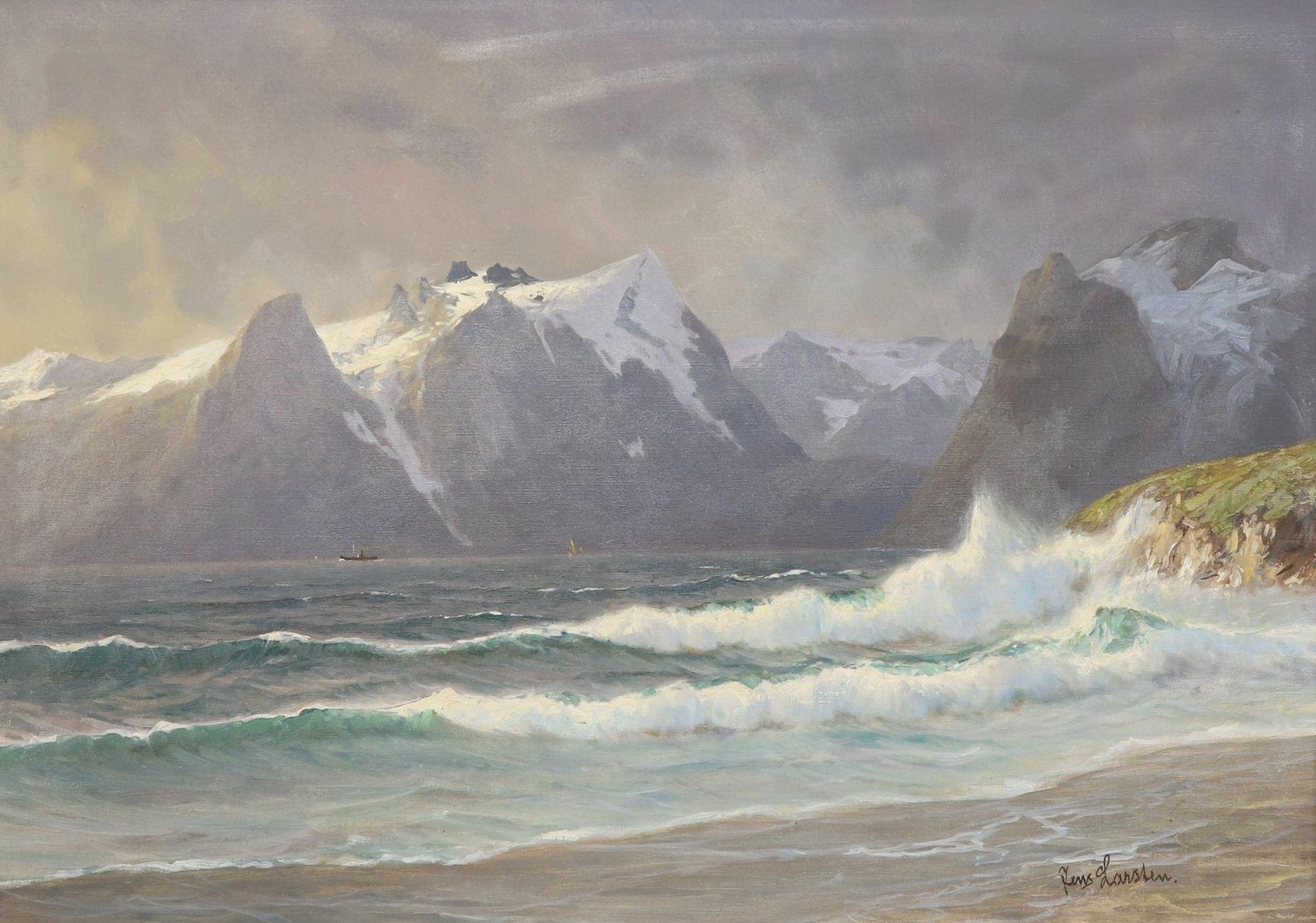 Jens Larsten, Norwegische Küstenszene