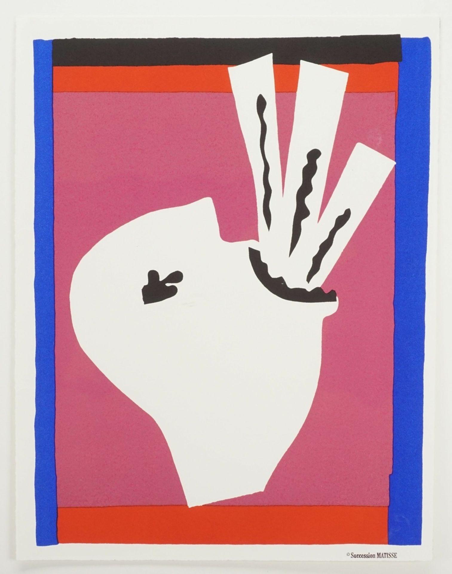 """Henri Matisse, """"L'Avaleur de Sabres"""" (Der Schwertschlucker) - Bild 3 aus 3"""