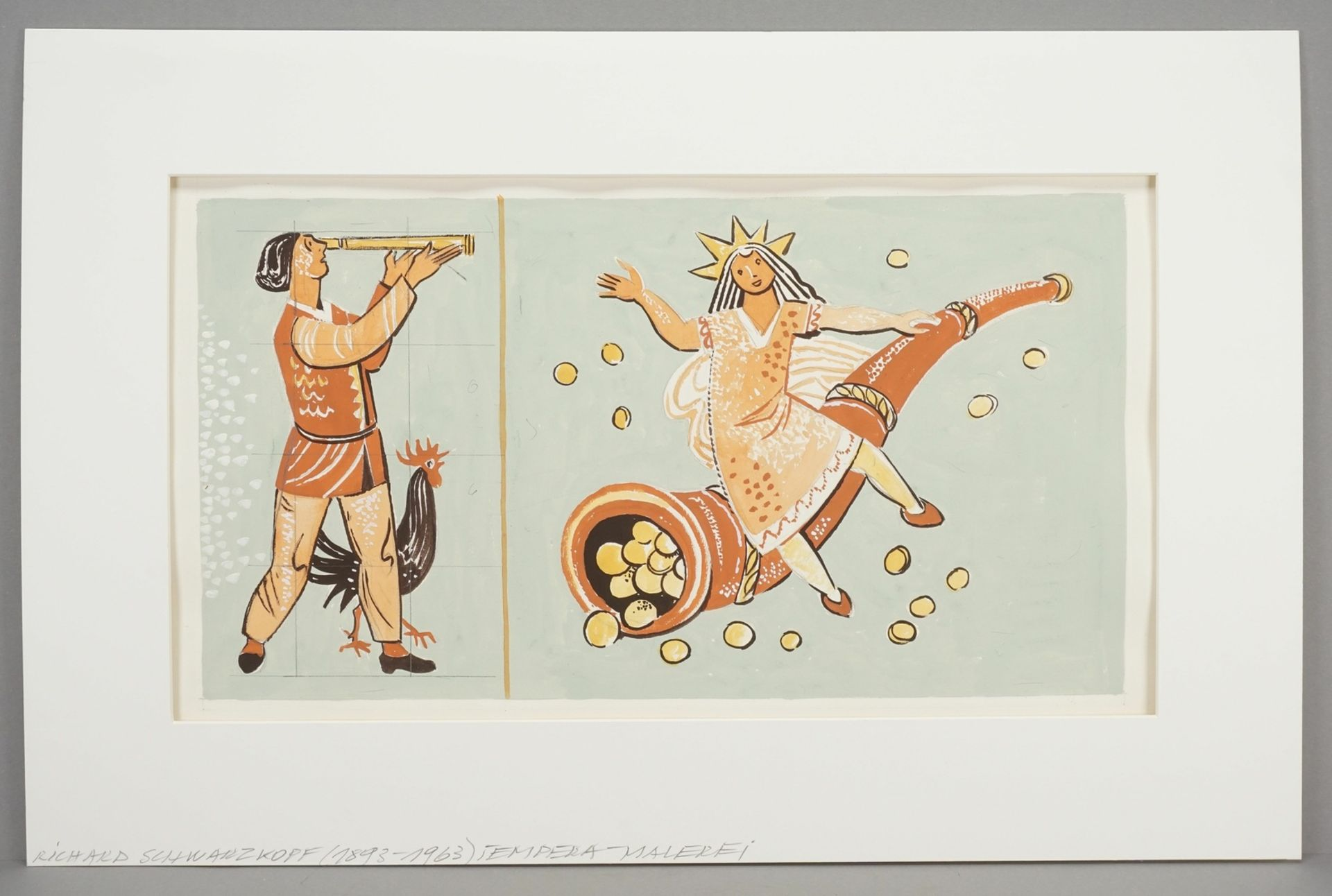 "Richard Schwarzkopf, ""Märchenhafte Szene"" - Bild 2 aus 4"