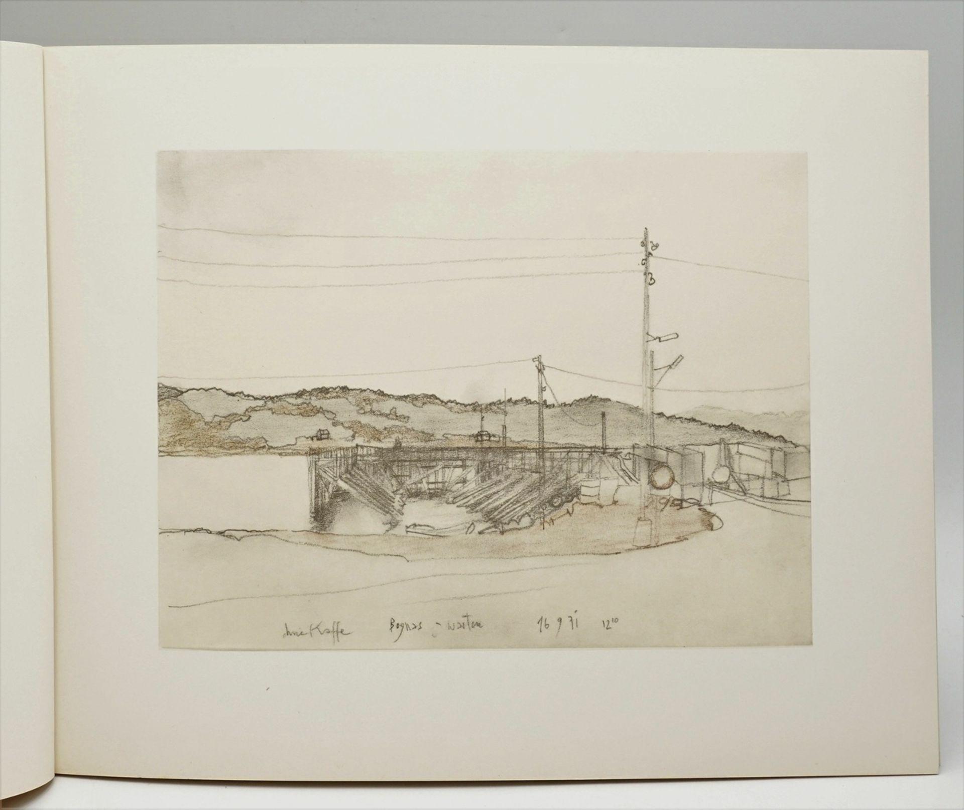 """Horst Janssen, """"Norwegisches Skizzenbuch"""" - Bild 4 aus 4"""