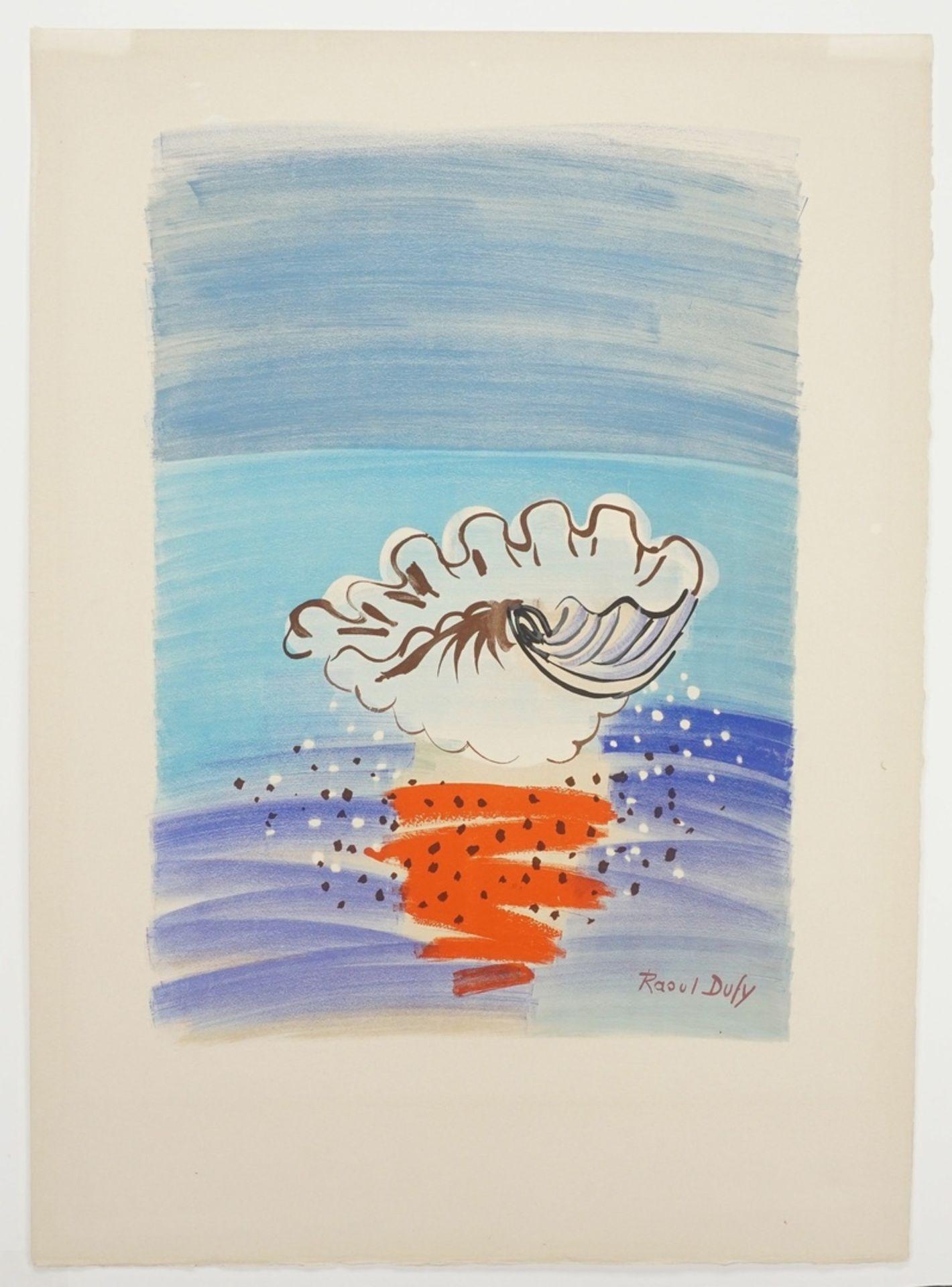 """Raoul Dufy, """"La Coquille / Die Muschel"""" - Bild 3 aus 4"""