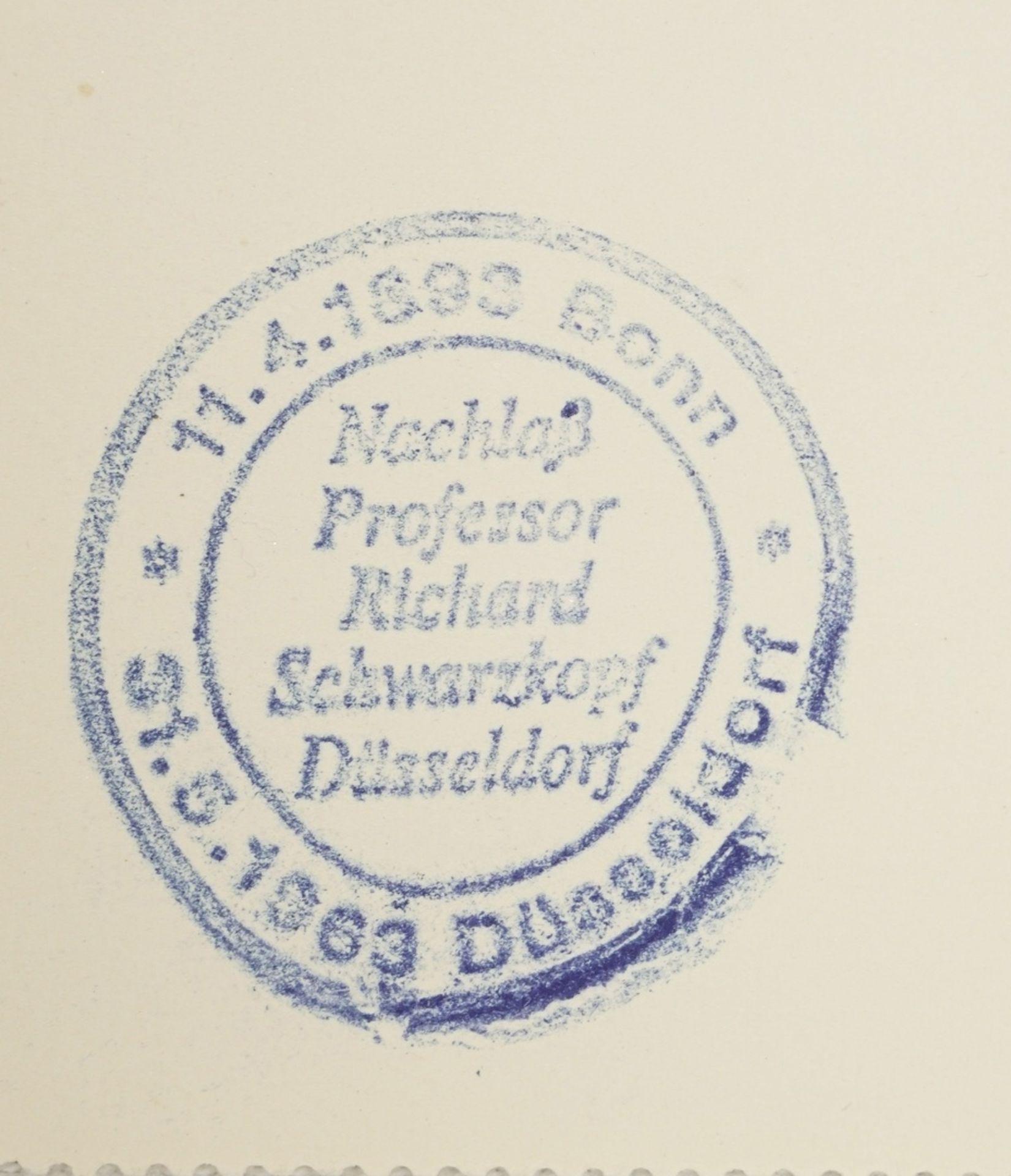 Richard Schwarzkopf, Sitzende mit blauem Tuch - Bild 4 aus 4