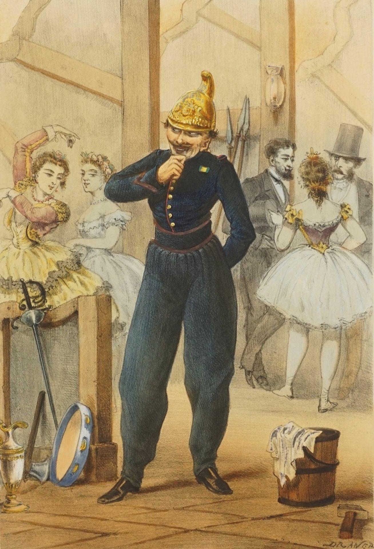 """Jules Draner, """"Pompier - tenue de service"""" (Feuerwehrmann - in Dienstkleidung)"""