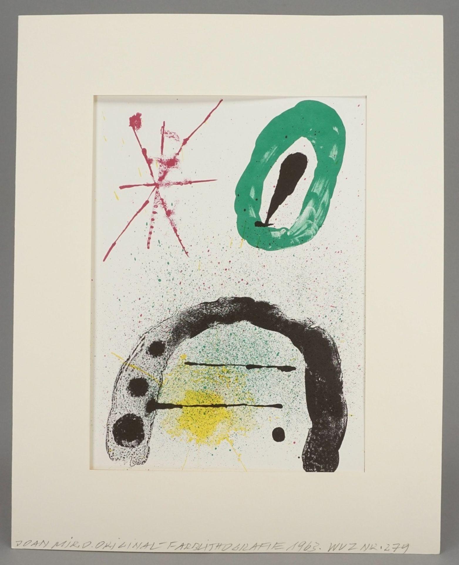 """Joan Miró, """"La fille du Jardinier II"""" (Die Tochter des Gärtners II) - Bild 2 aus 4"""