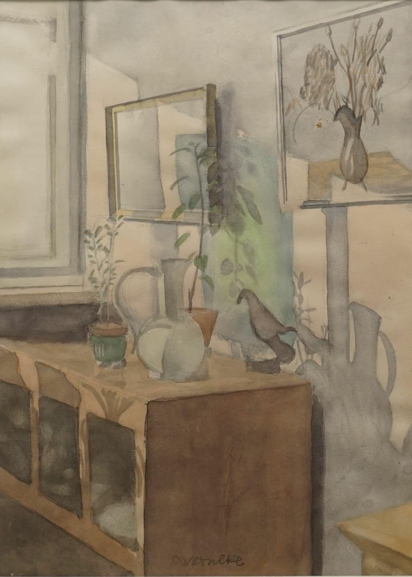 """Franz Werneke, """"Stillleben am Fenster"""""""