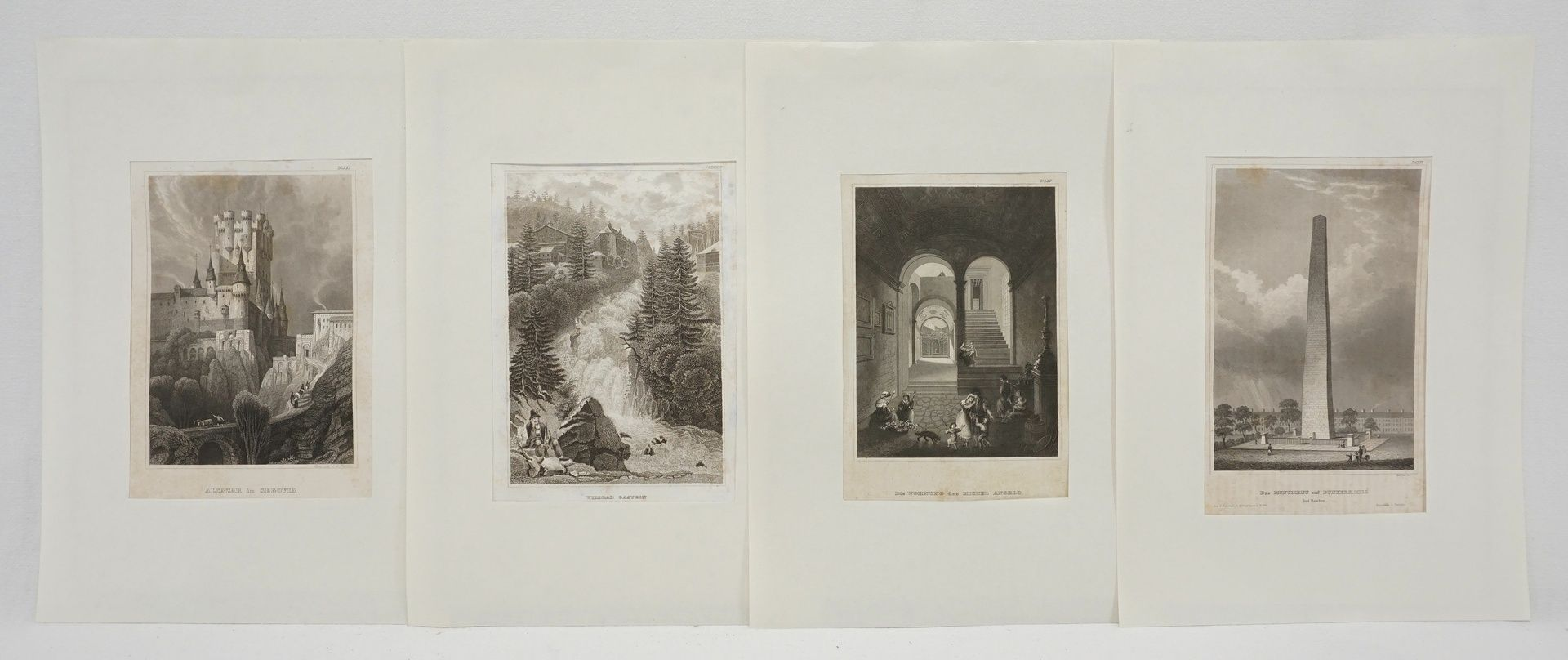 70 Stahlstiche aller Welt, um 1840 - Bild 3 aus 3