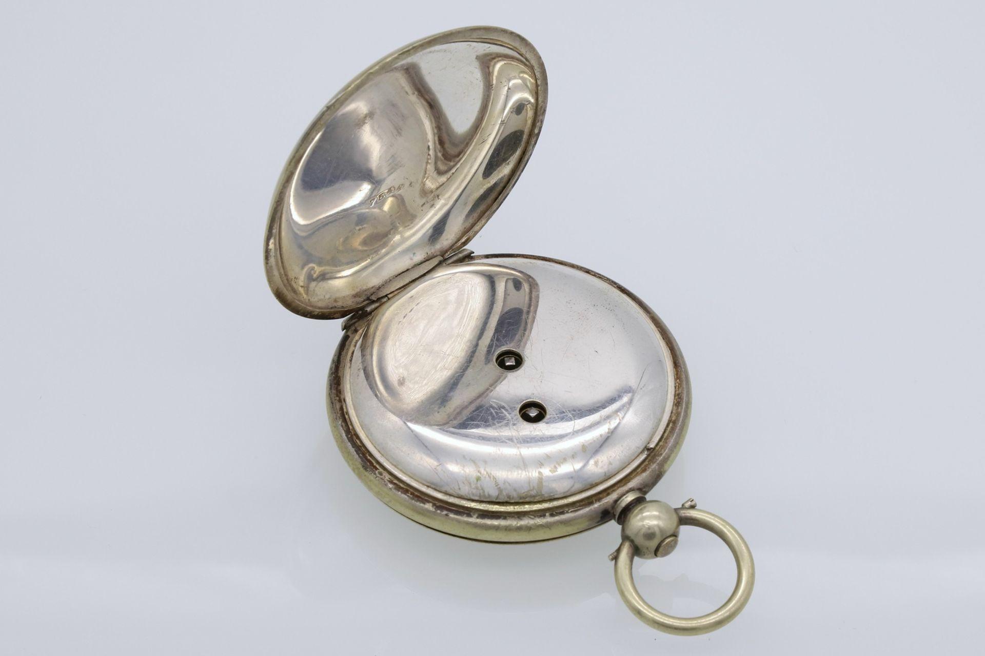 Osmanische Savonnette Taschenuhr, Ende 19. Jh. - Bild 5 aus 6
