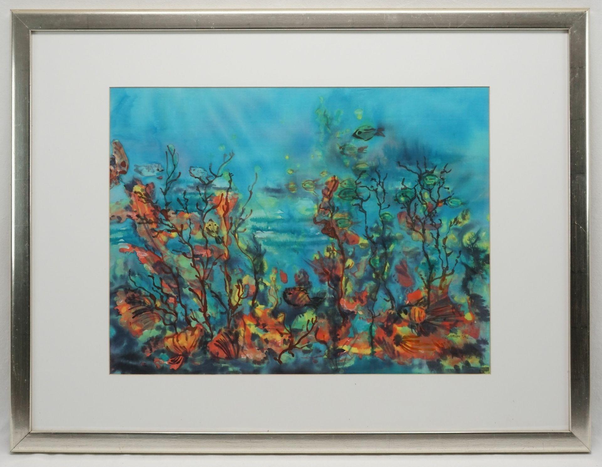 """Hannelore Koch, """"Unterwasserwelt"""" - Bild 2 aus 3"""