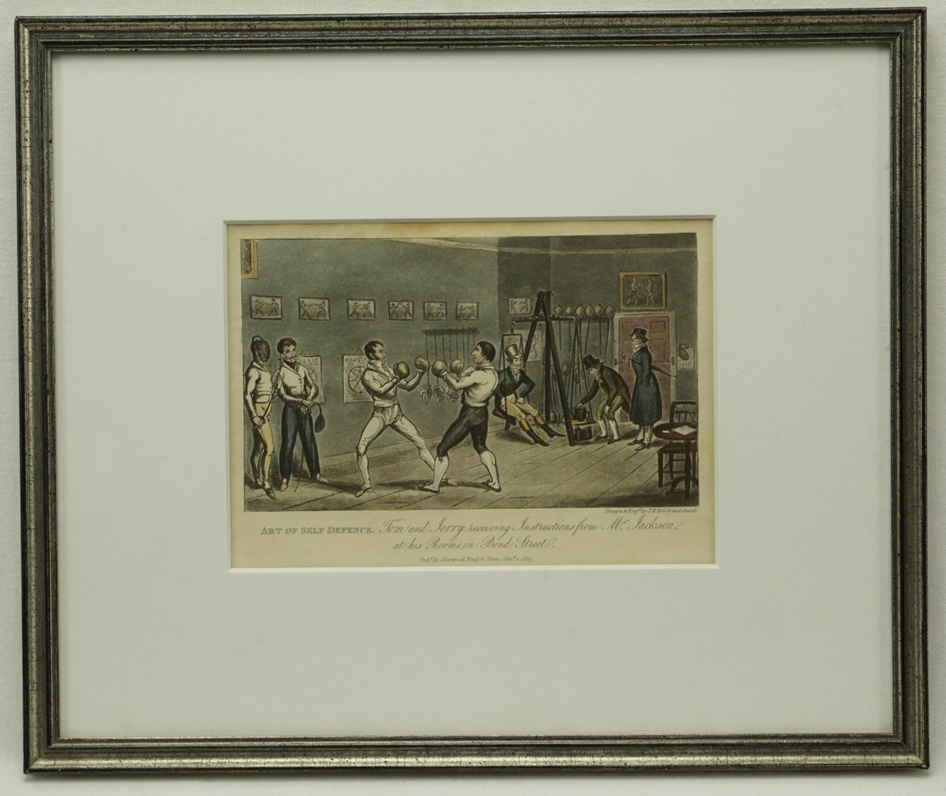 """Isaak & George Cruikshank, """"Art of Self Defense"""" (Die Kunst der Selbst-Verteidigung) - Bild 2 aus 3"""