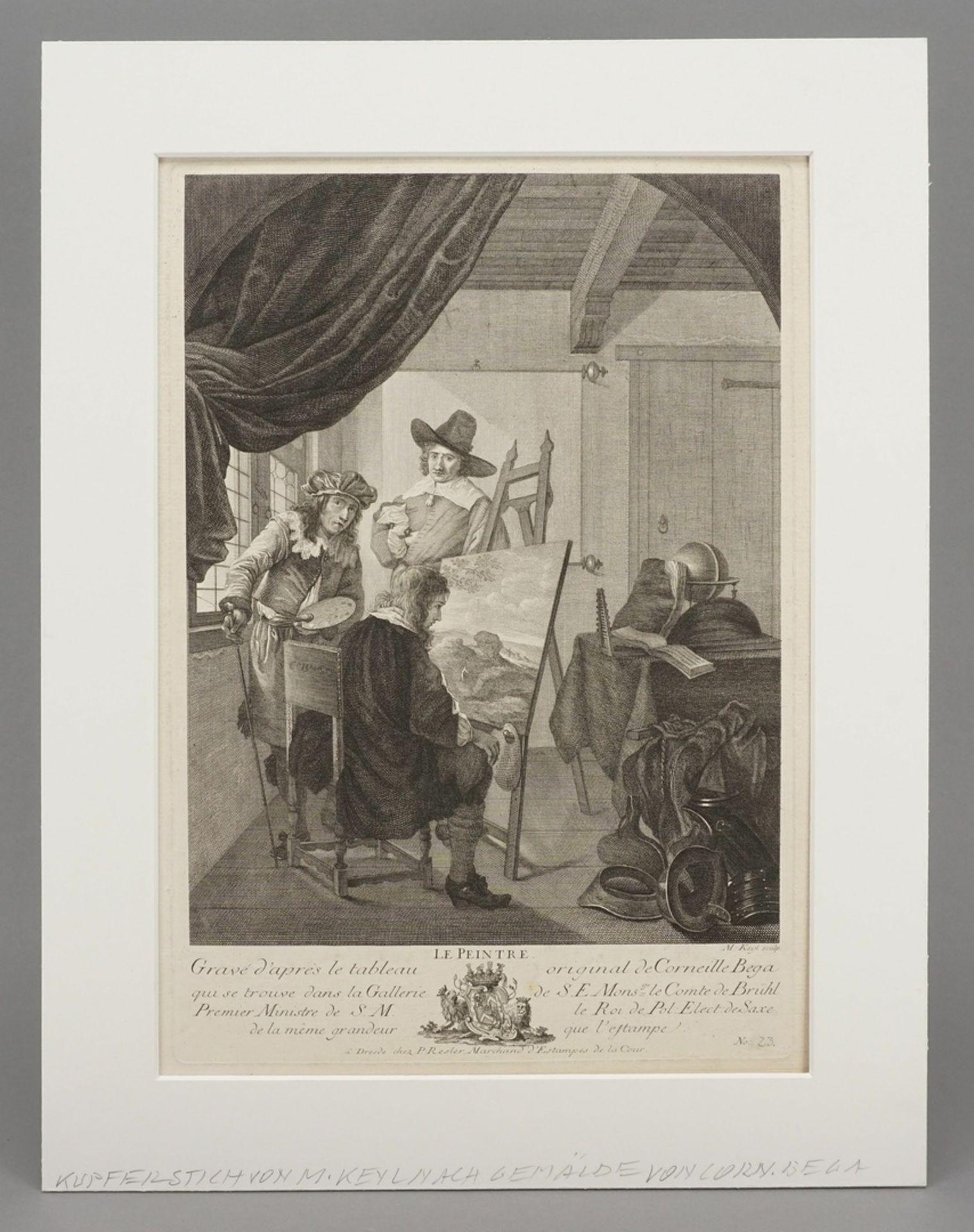 "Cornelis Pietersz Bega, ""Le Peintre"" (Der Maler) - Bild 2 aus 3"