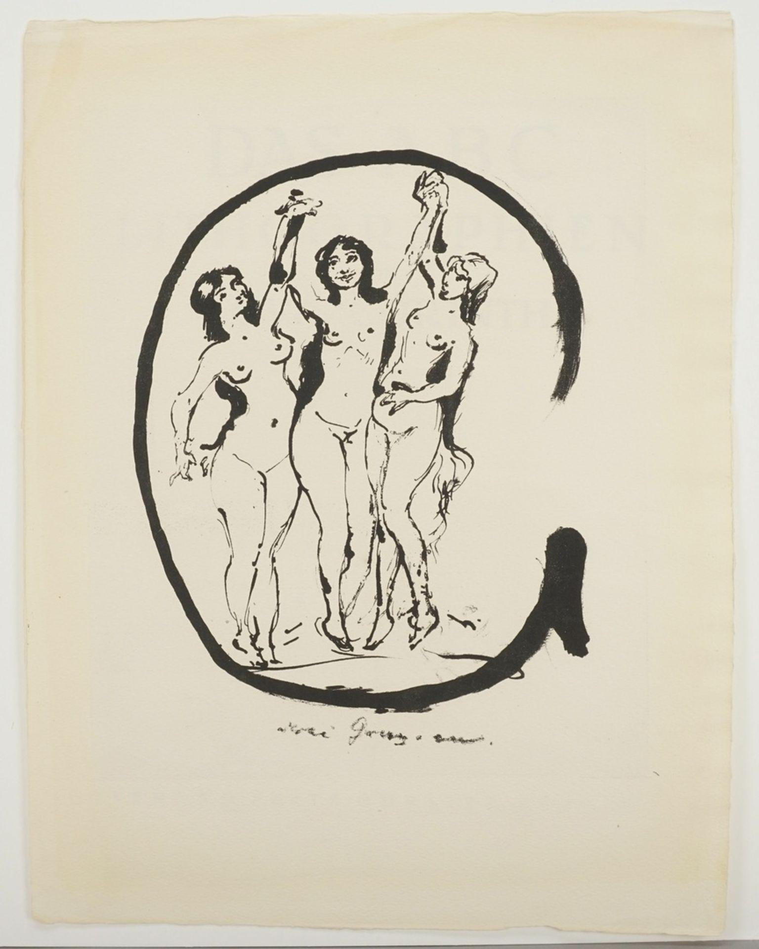 """Lovis Corinth, """"Buchstabe G"""" - Bild 3 aus 3"""