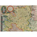 """Mat(t)hias Quad, """"Wirtenbergensis Ducatus"""" (Landkarte des Herzogtums Württemberg)"""