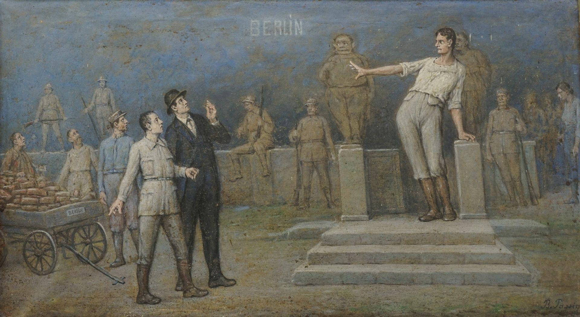 Bendix Passig, Der Wiederaufbau Berlins unter den Siegermächten ( )