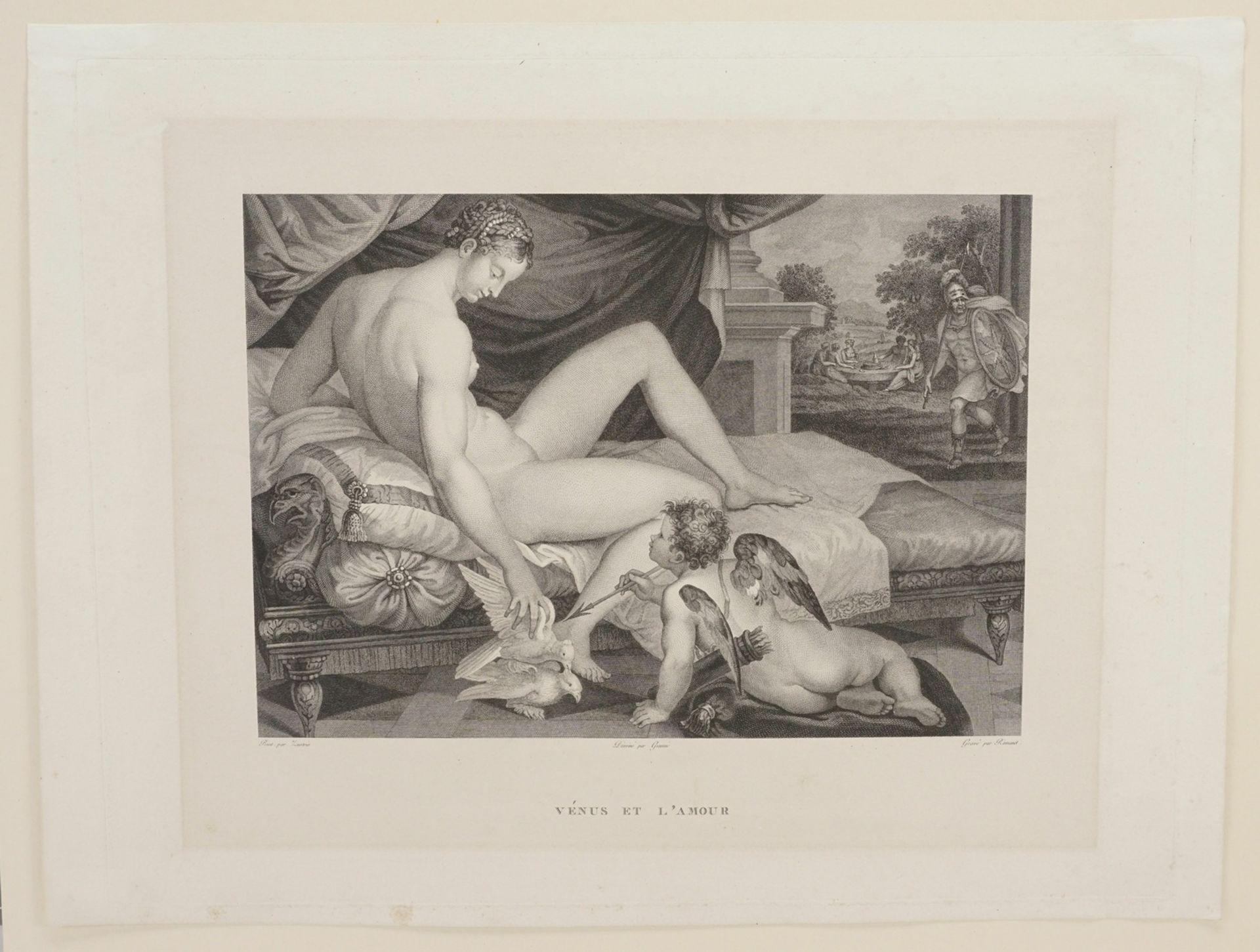 """Lambert Sustris, """"Vénus et l'Amour"""" (Venus und Amor) - Bild 3 aus 3"""