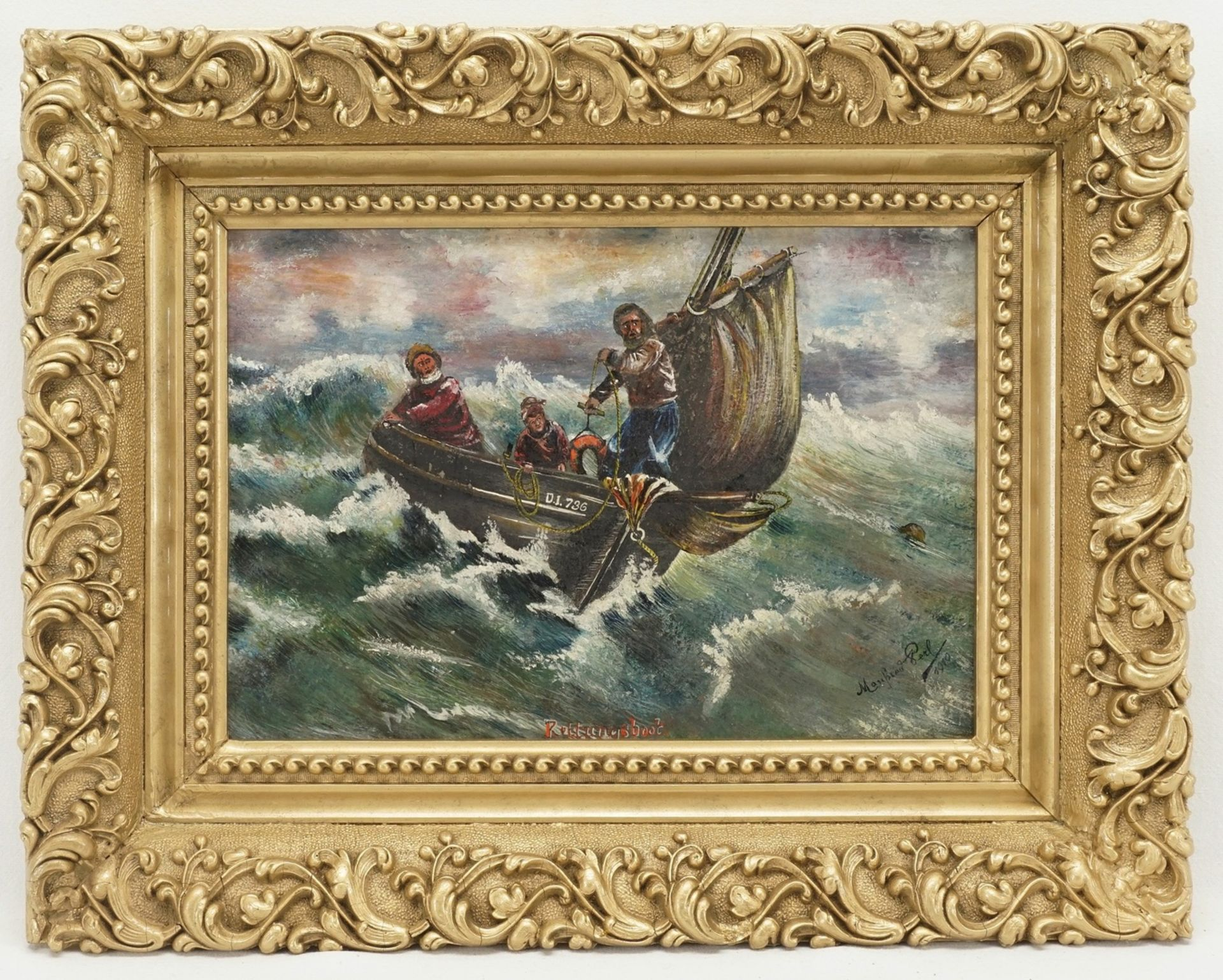 "Manfred Perl, ""Rettungsboot"""