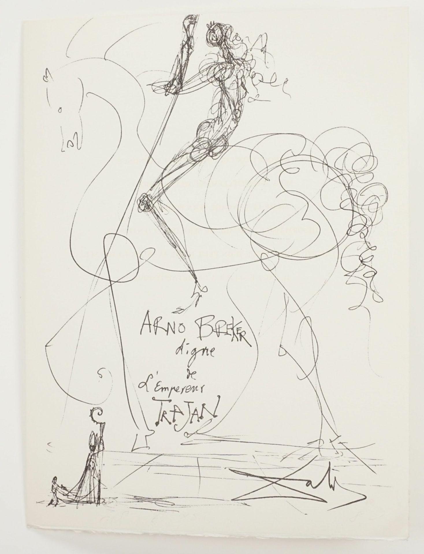 "Salvador Dalí, ""Salvador Dalí pour Arno Breker"" - Bild 3 aus 5"