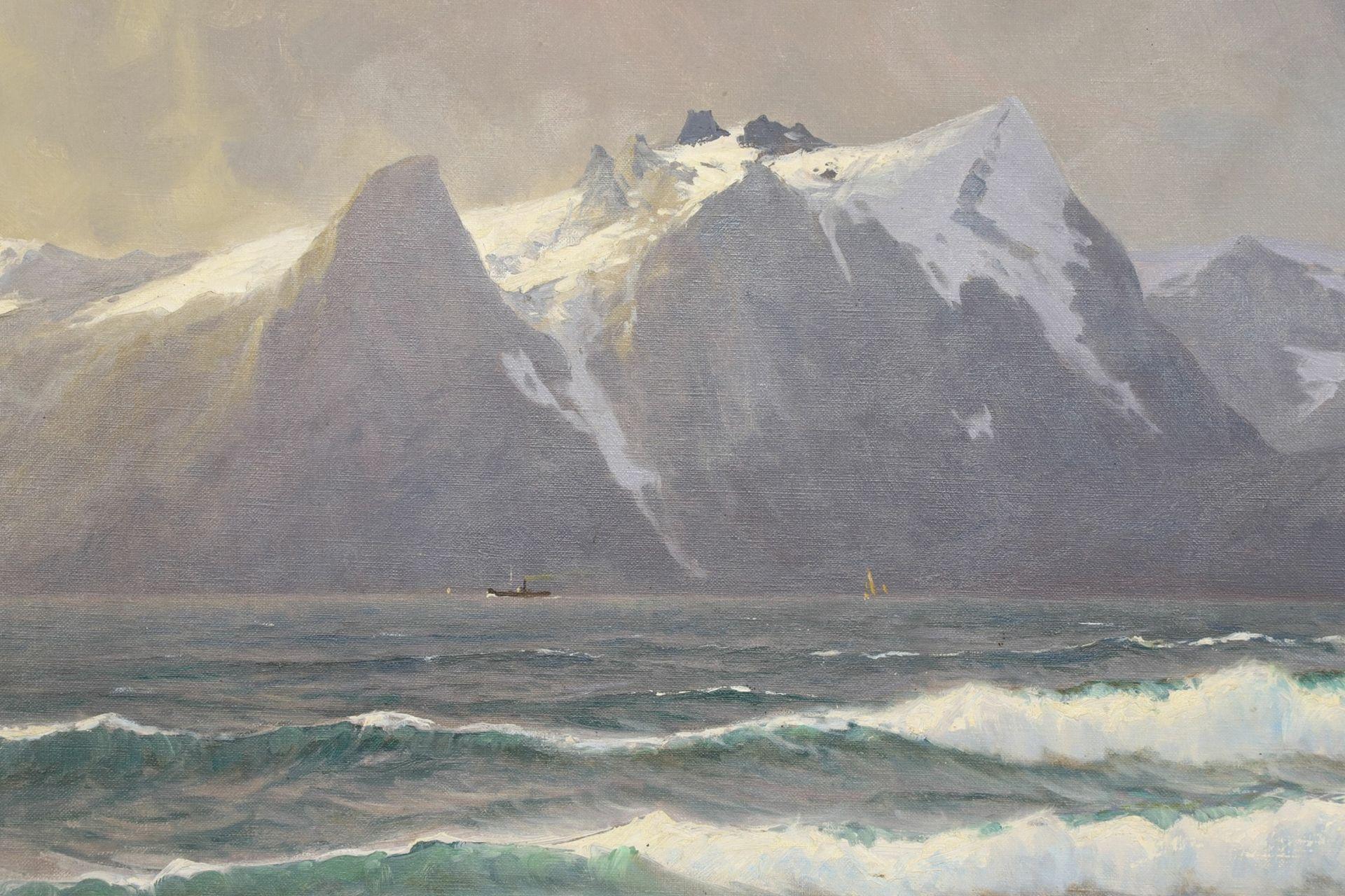Jens Larsten, Norwegische Küstenszene - Bild 3 aus 5