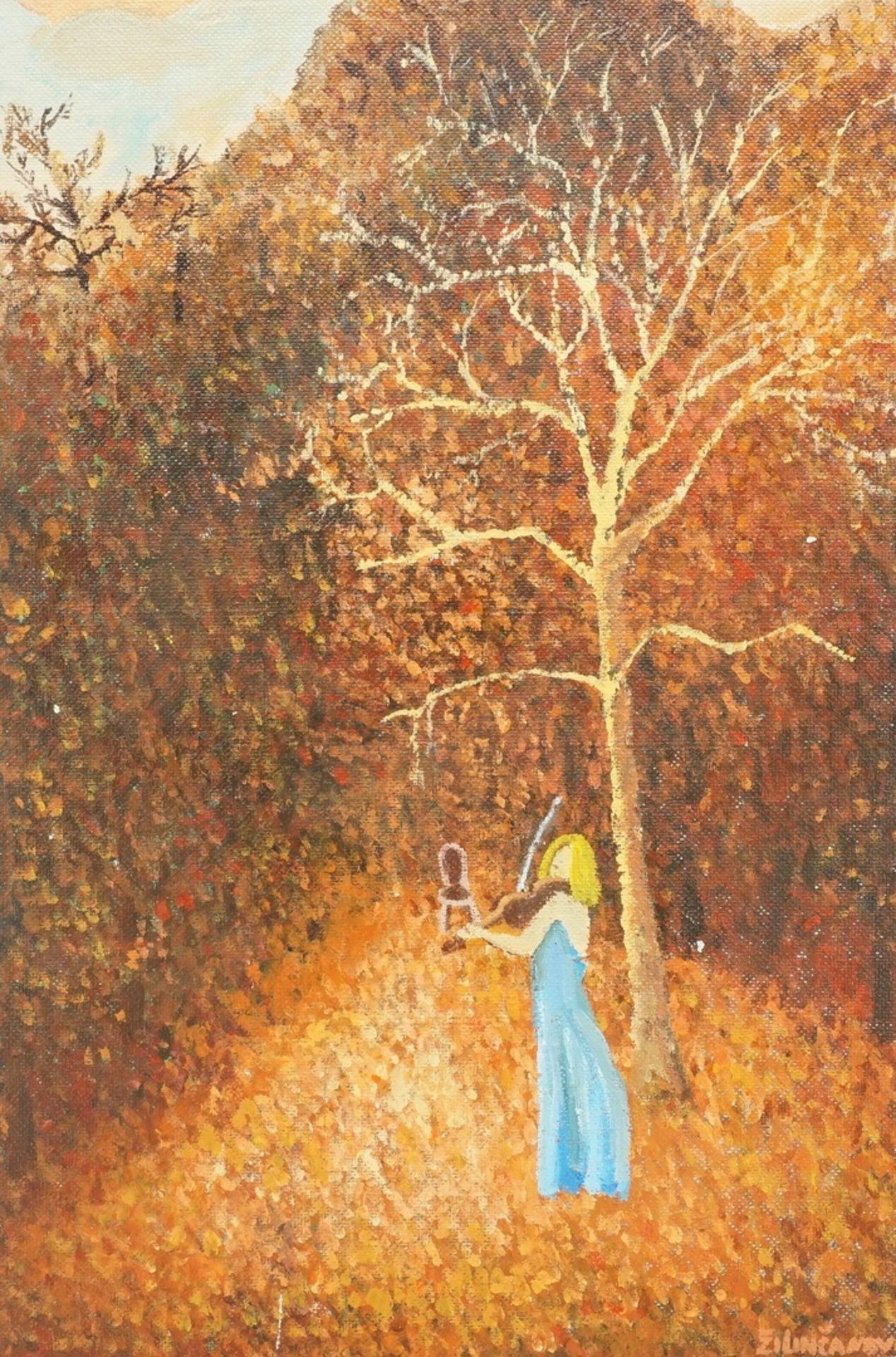 """Viera Zilincanová, """"Kleine Herbstmusik"""""""