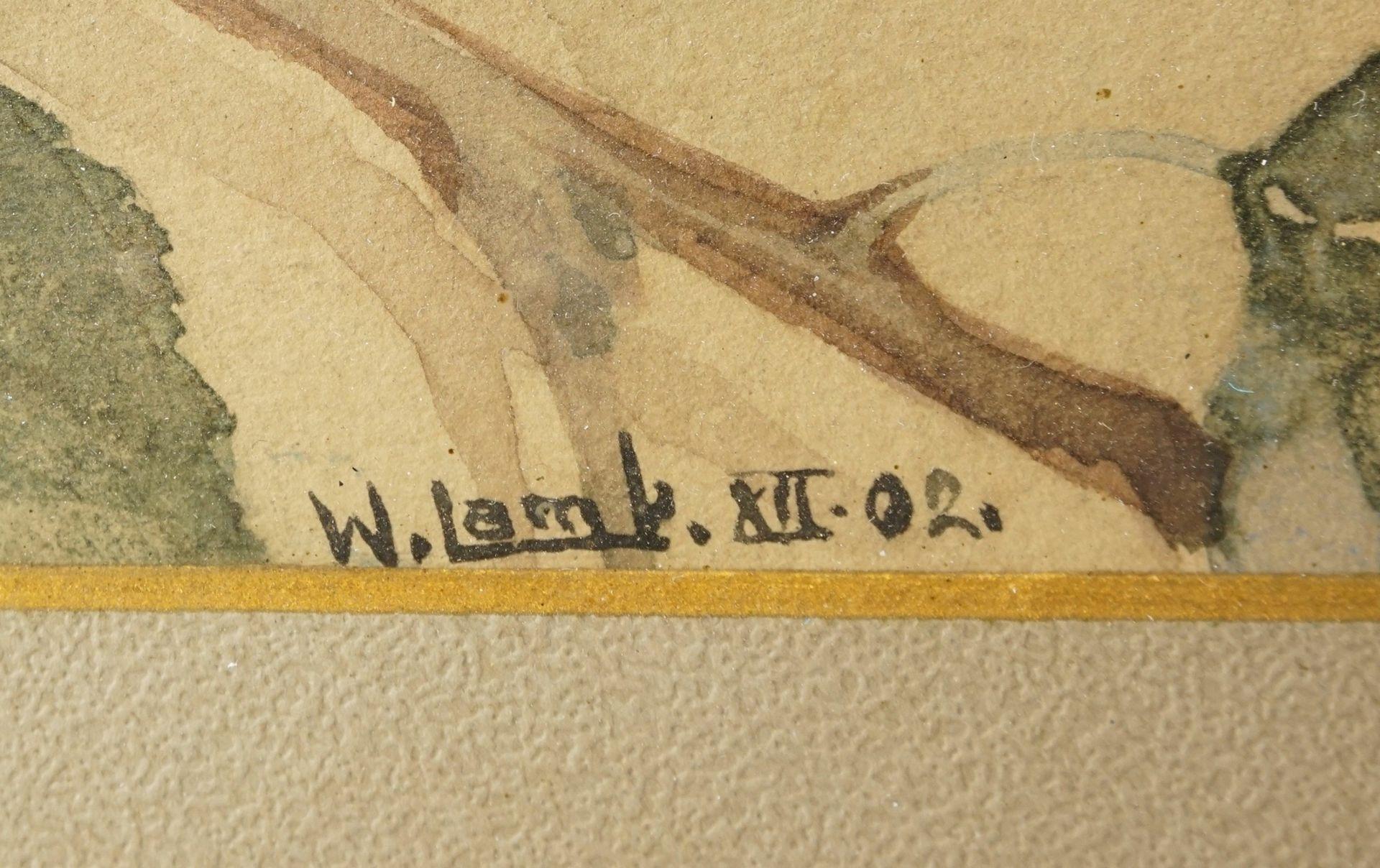 W. Lamb, Kirsch- und Apfelzweig - Bild 5 aus 6