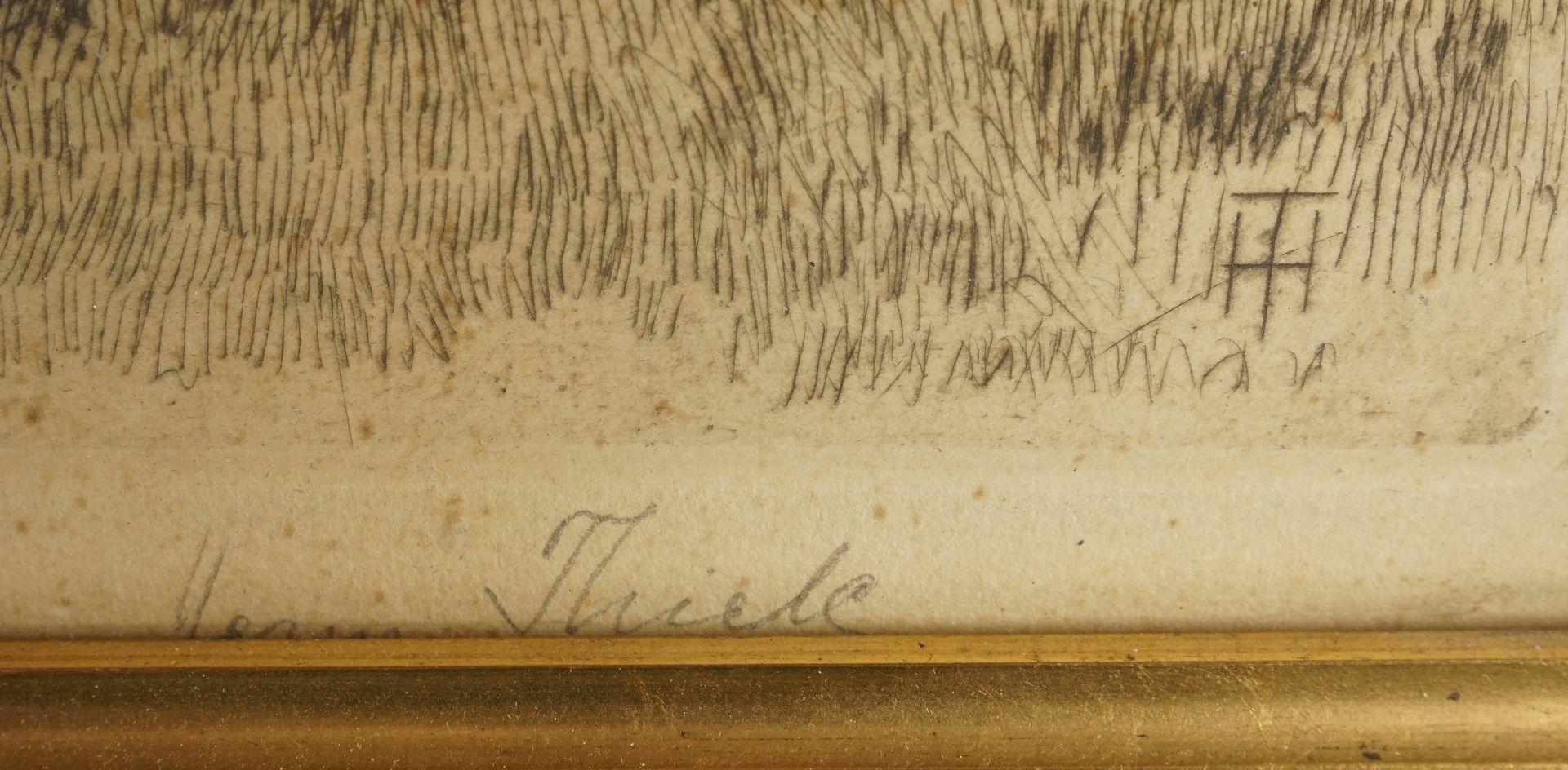 """Hermann Thiele, """"In der Grube"""" - Bild 4 aus 4"""