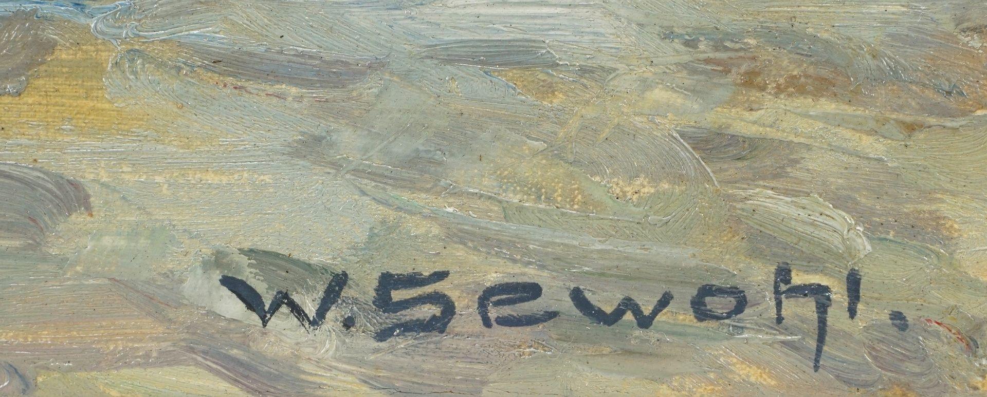 """Waldemar Sewohl, """"Einfahrender schwedischer Fischdampfer"""" - Bild 4 aus 4"""