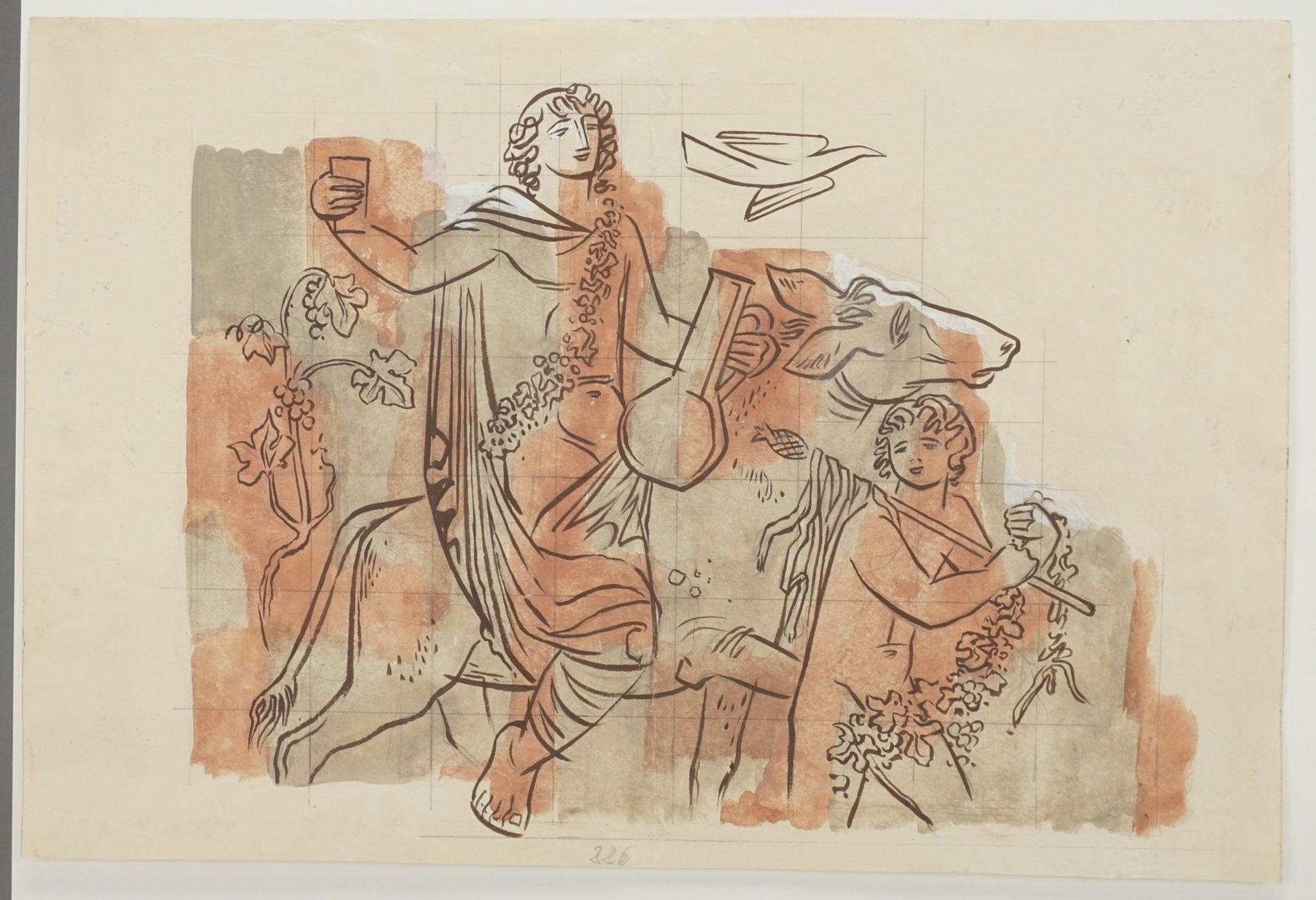 Richard Schwarzkopf, Triumphzug des Bacchus - Bild 3 aus 4